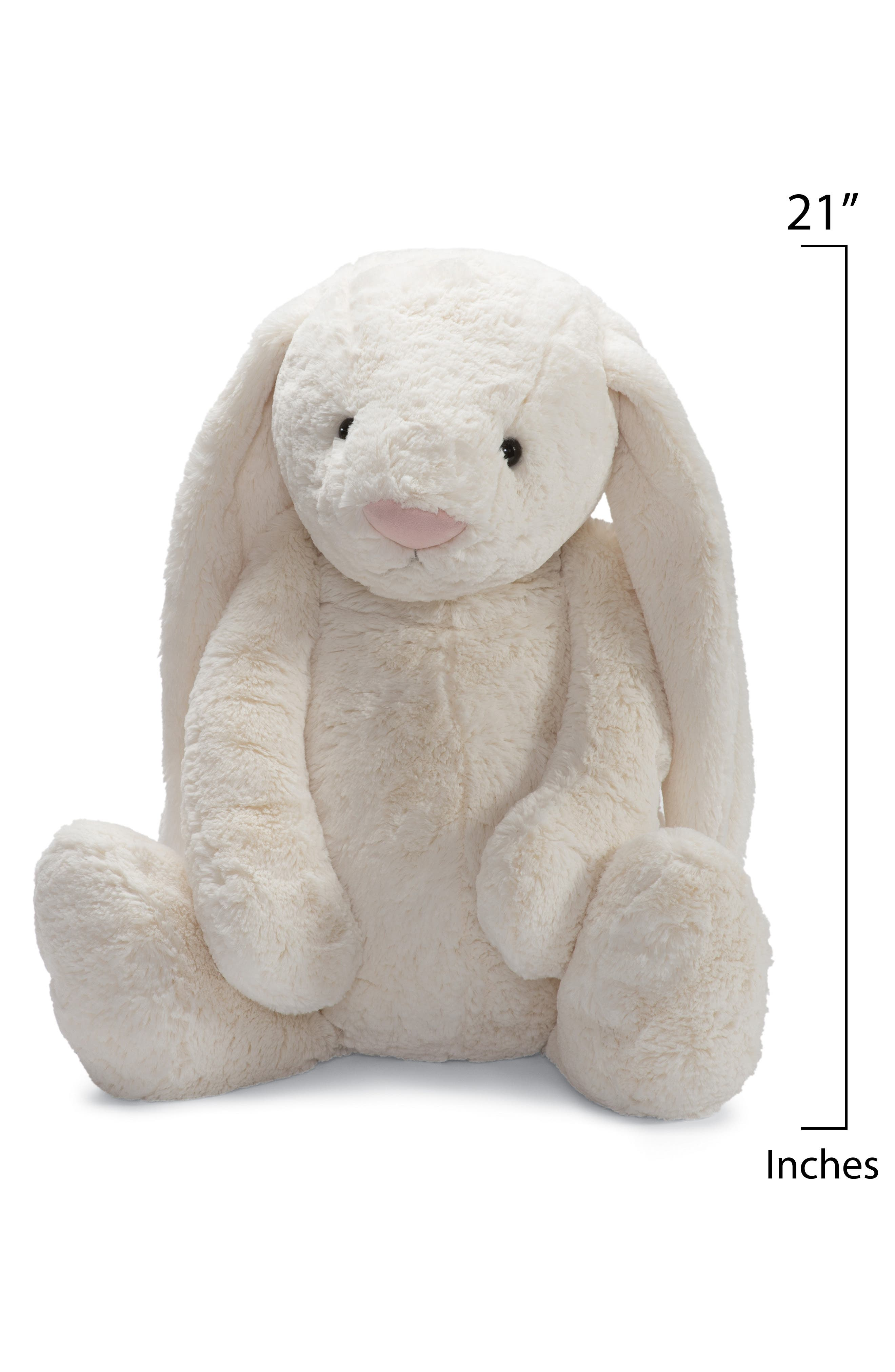 'Huge Bashful Bunny' Stuffed Animal,                             Alternate thumbnail 2, color,                             CREAM