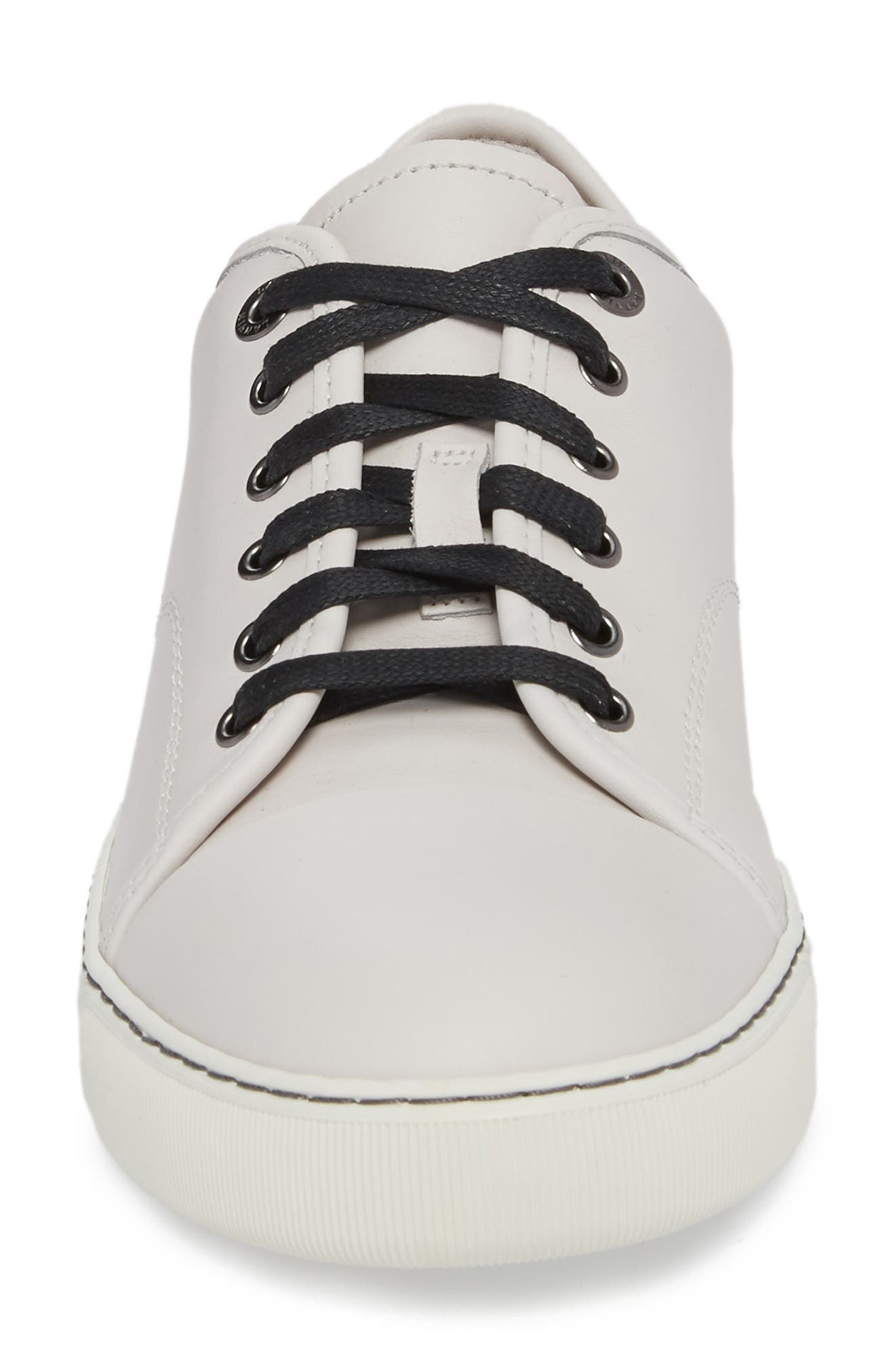 LANVIN,                             Low Top Sneaker,                             Alternate thumbnail 4, color,                             102