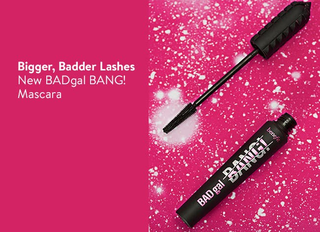 New BADgal BANG! Mascara for Bigger, Badder Lashes