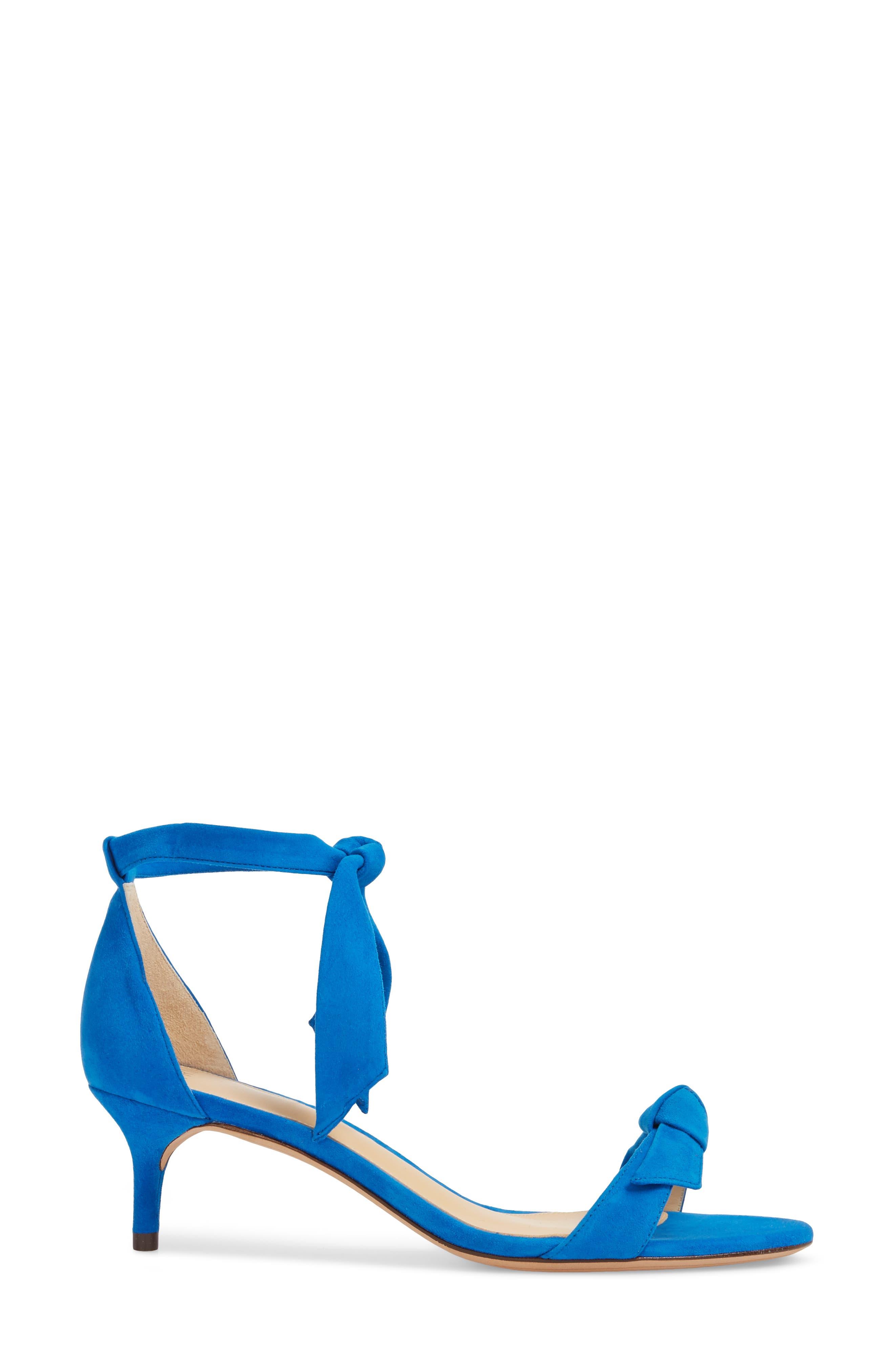 Clarita Knotted Sandal,                             Alternate thumbnail 3, color,                             400
