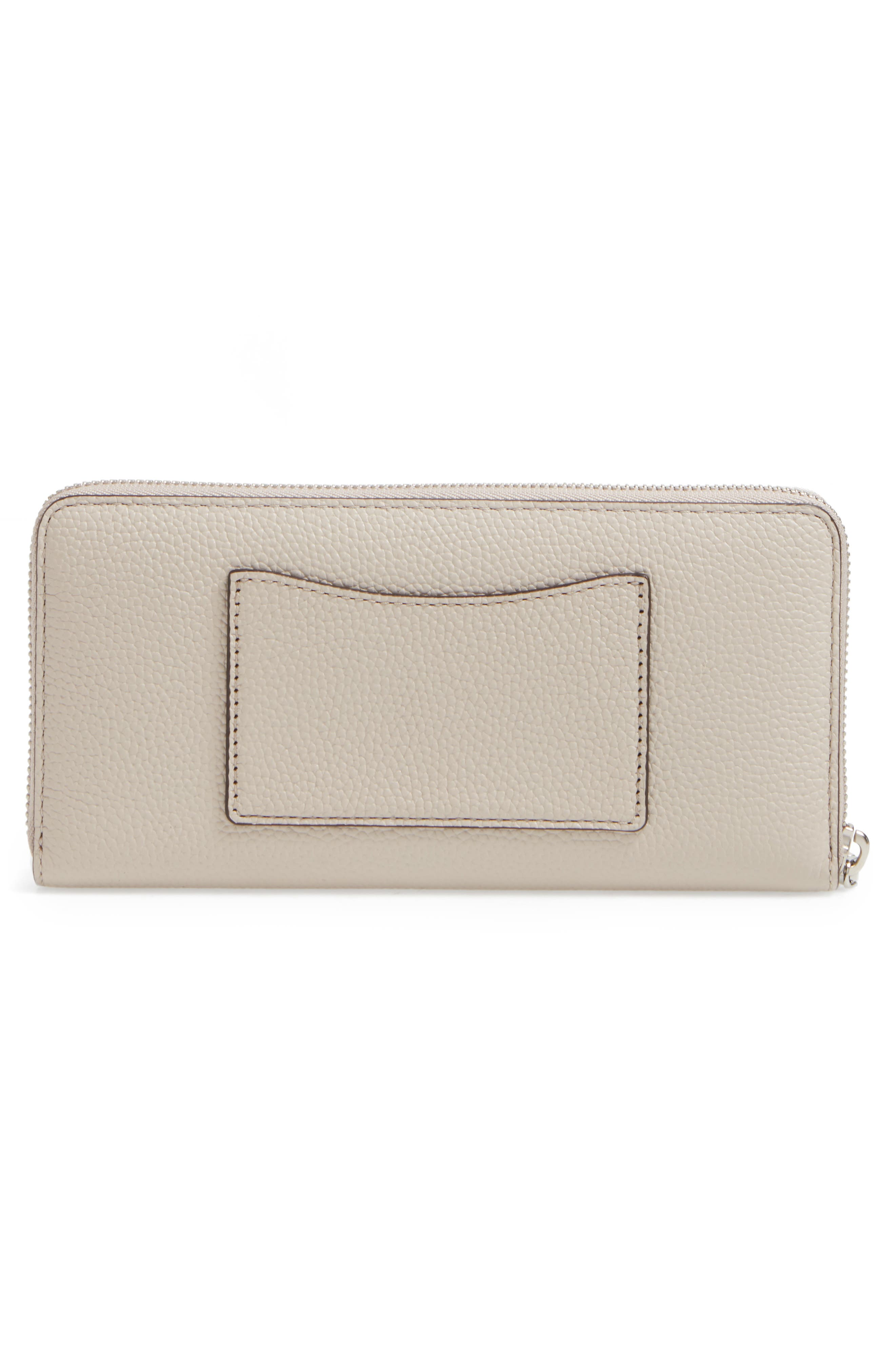 Mercer Leather Continental Wallet,                             Alternate thumbnail 10, color,
