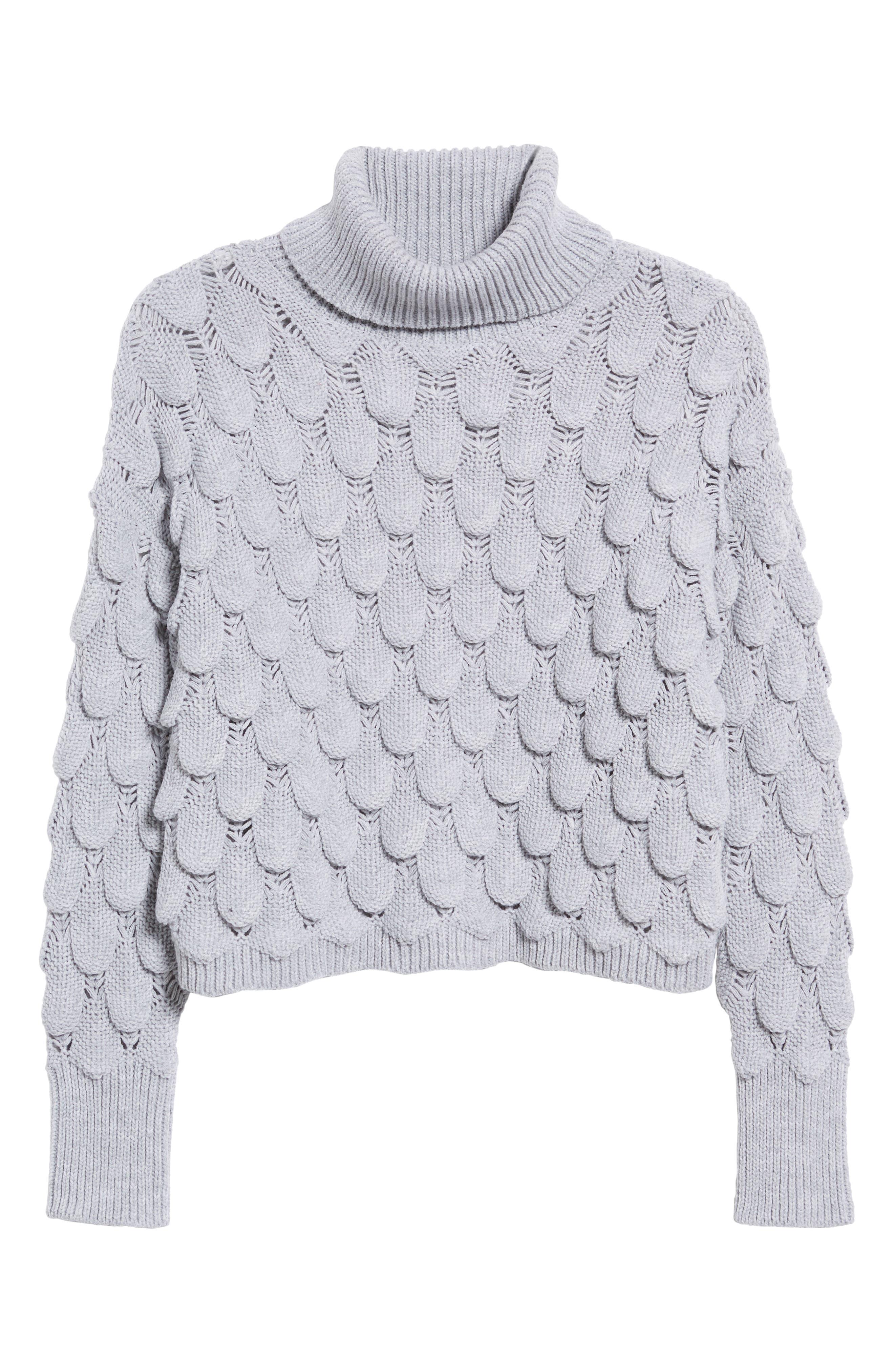 Scallop Stitch Sweater,                             Alternate thumbnail 6, color,                             038