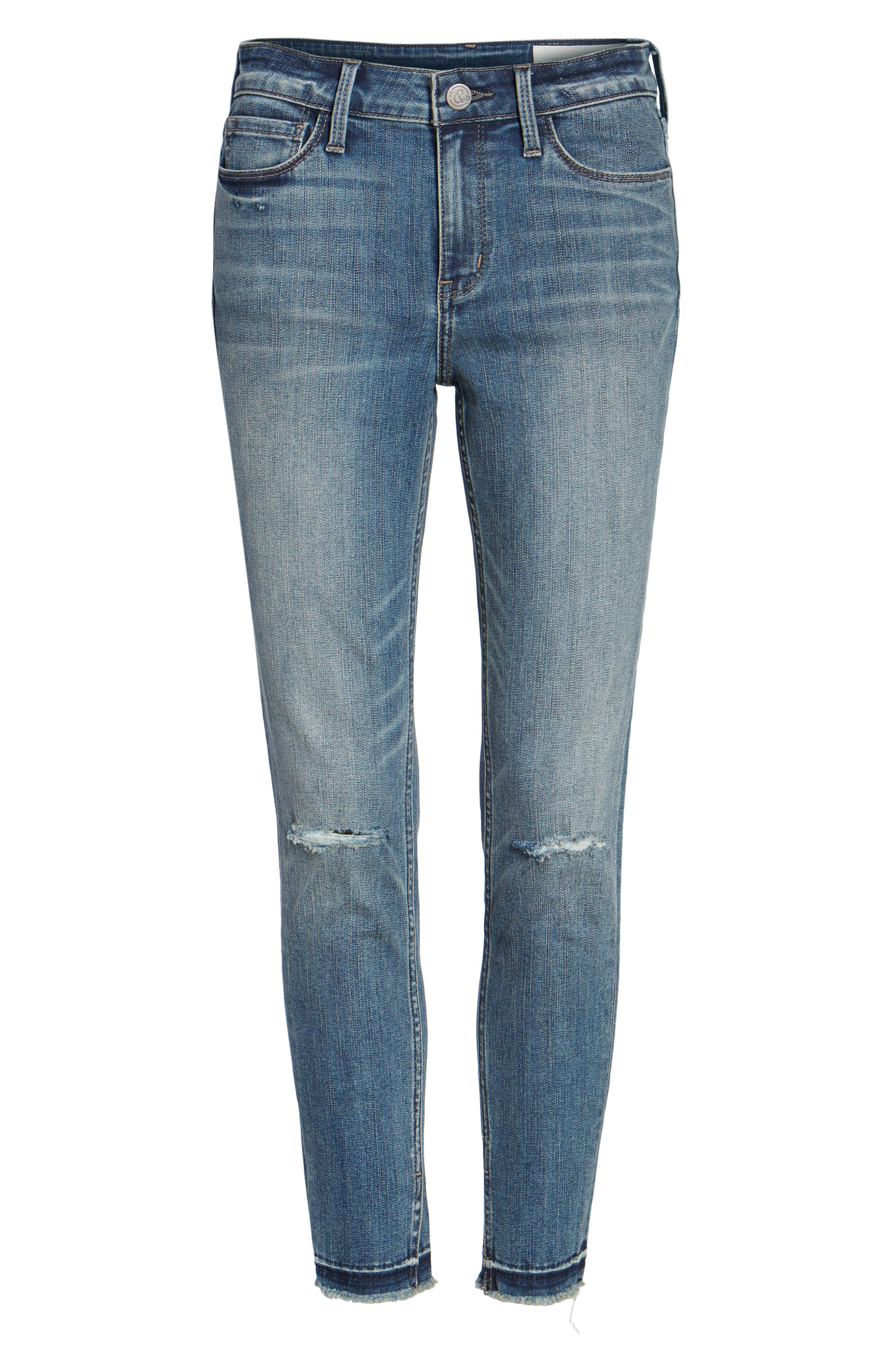 Ankle Skinny Jeans,                             Alternate thumbnail 6, color,                             400