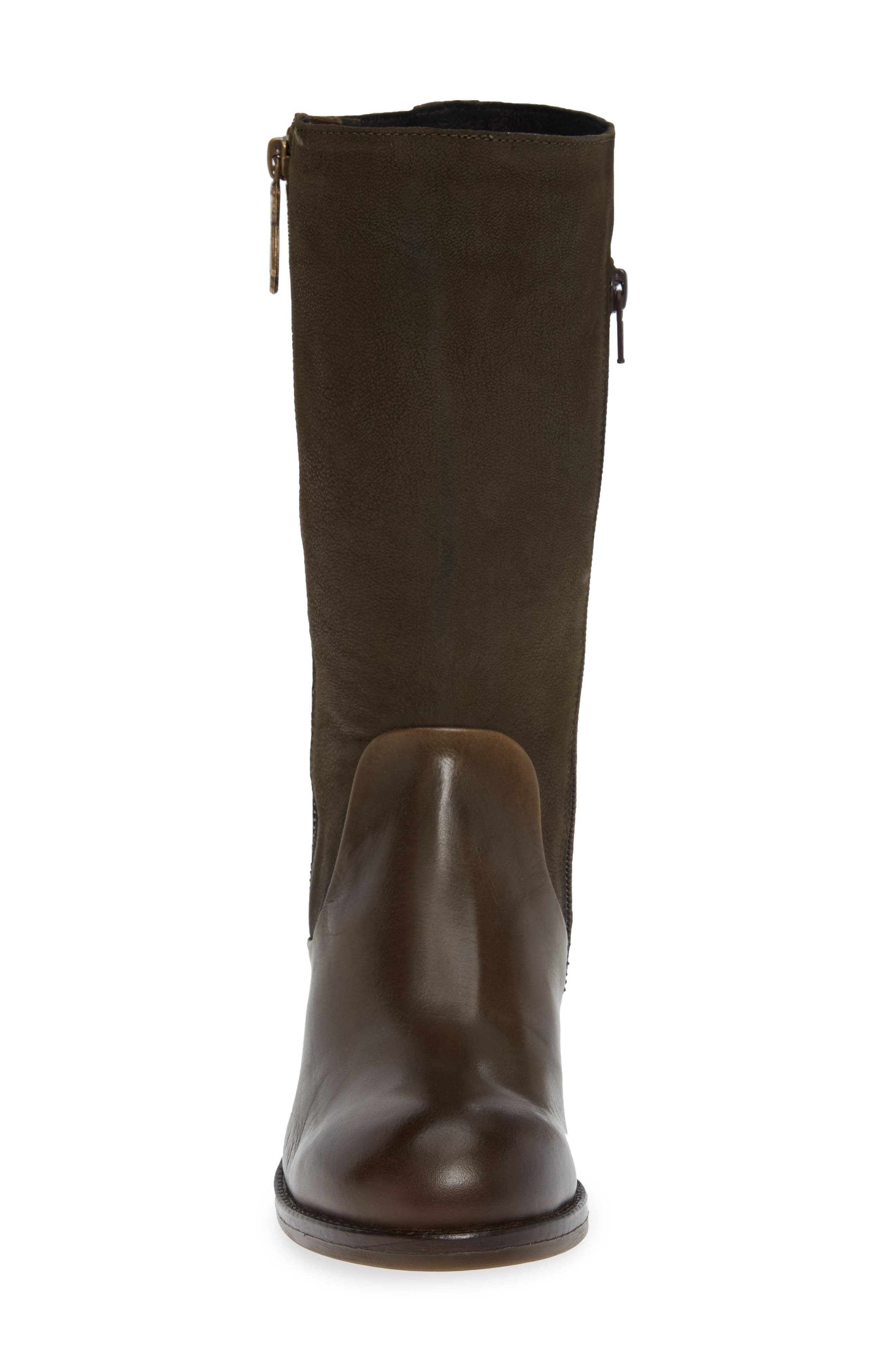 Aedi Boot,                             Alternate thumbnail 4, color,                             OLIVE/ SEAWEED LEATHER