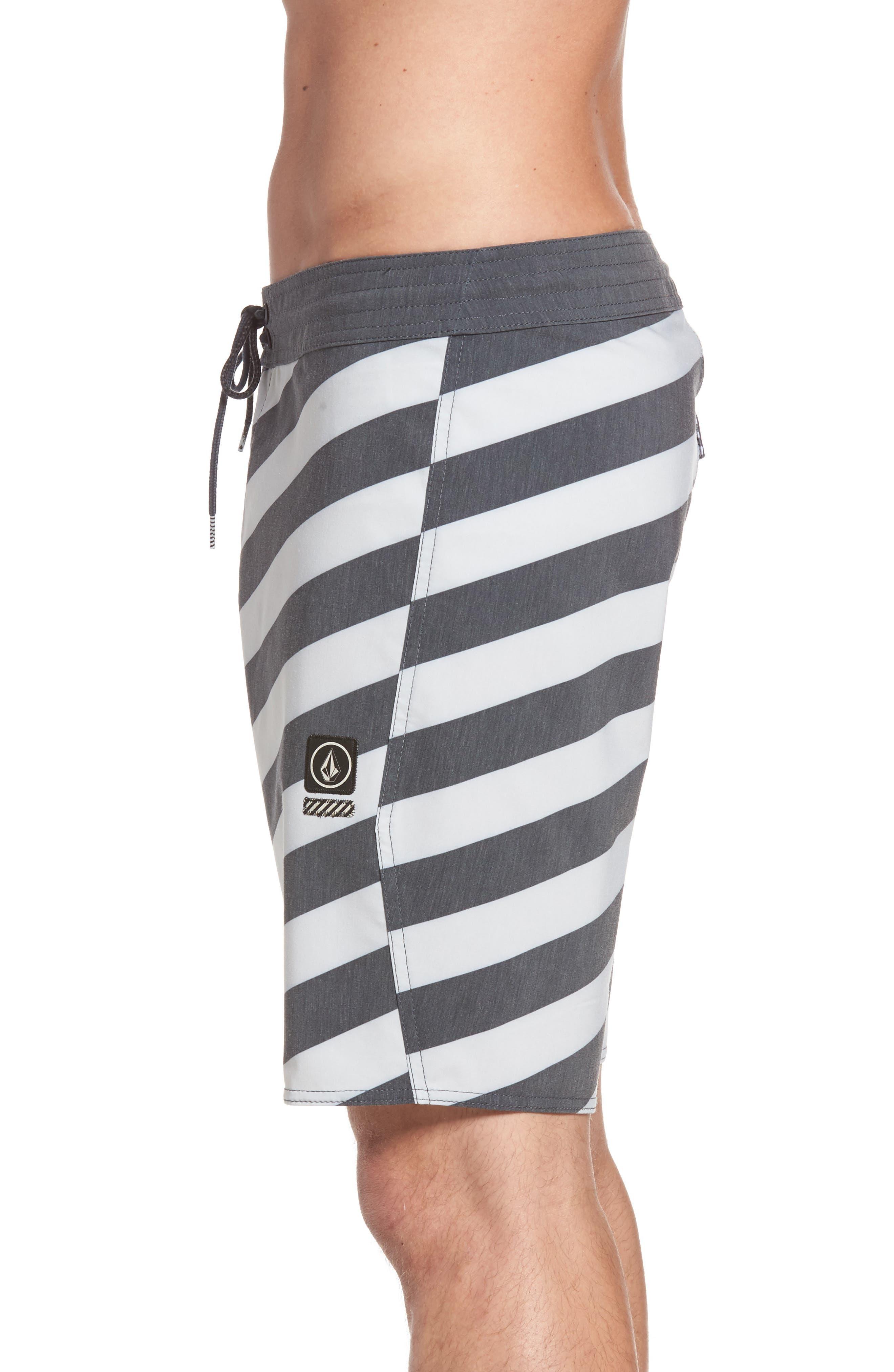 Stripey Slinger Board Shorts,                             Alternate thumbnail 18, color,
