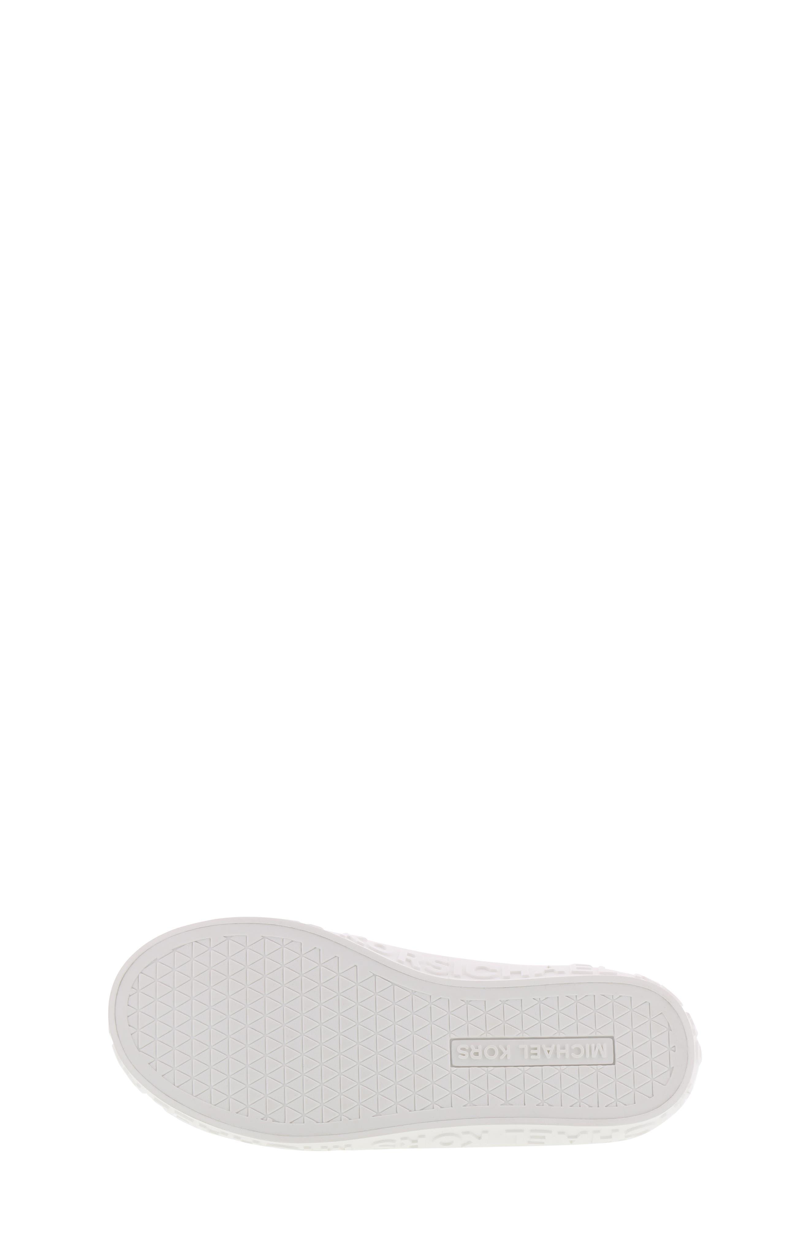 Lemon Spark Logo Sneaker,                             Alternate thumbnail 6, color,                             WHITE