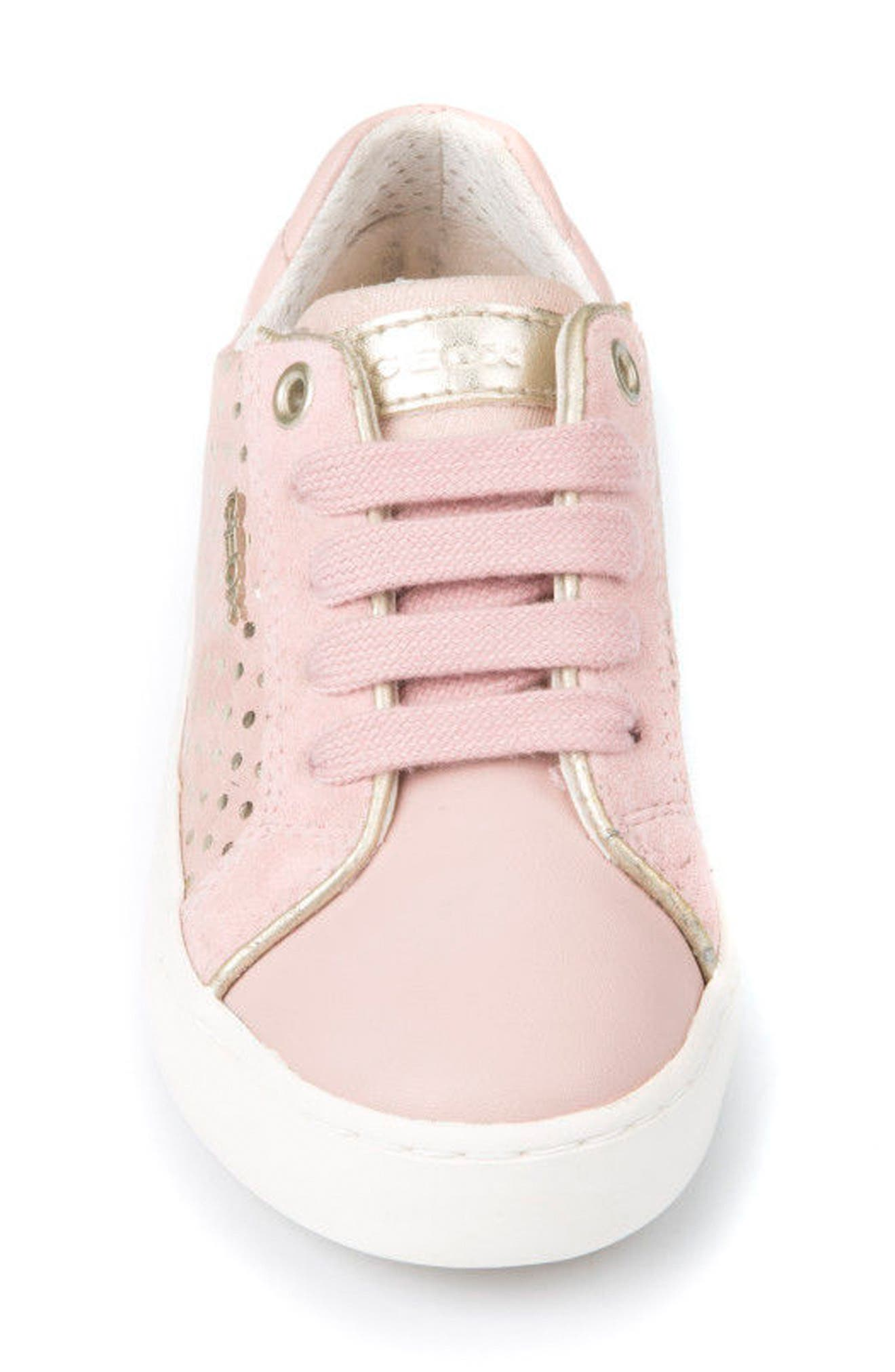 Kilwi Low Top Sneaker,                             Alternate thumbnail 4, color,                             ROSE