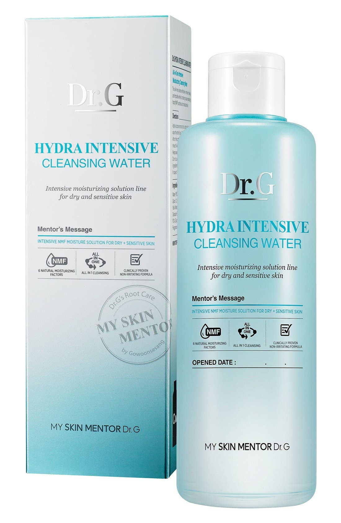 Hydra Intensive Cleansing Water,                             Alternate thumbnail 3, color,                             NO COLOR