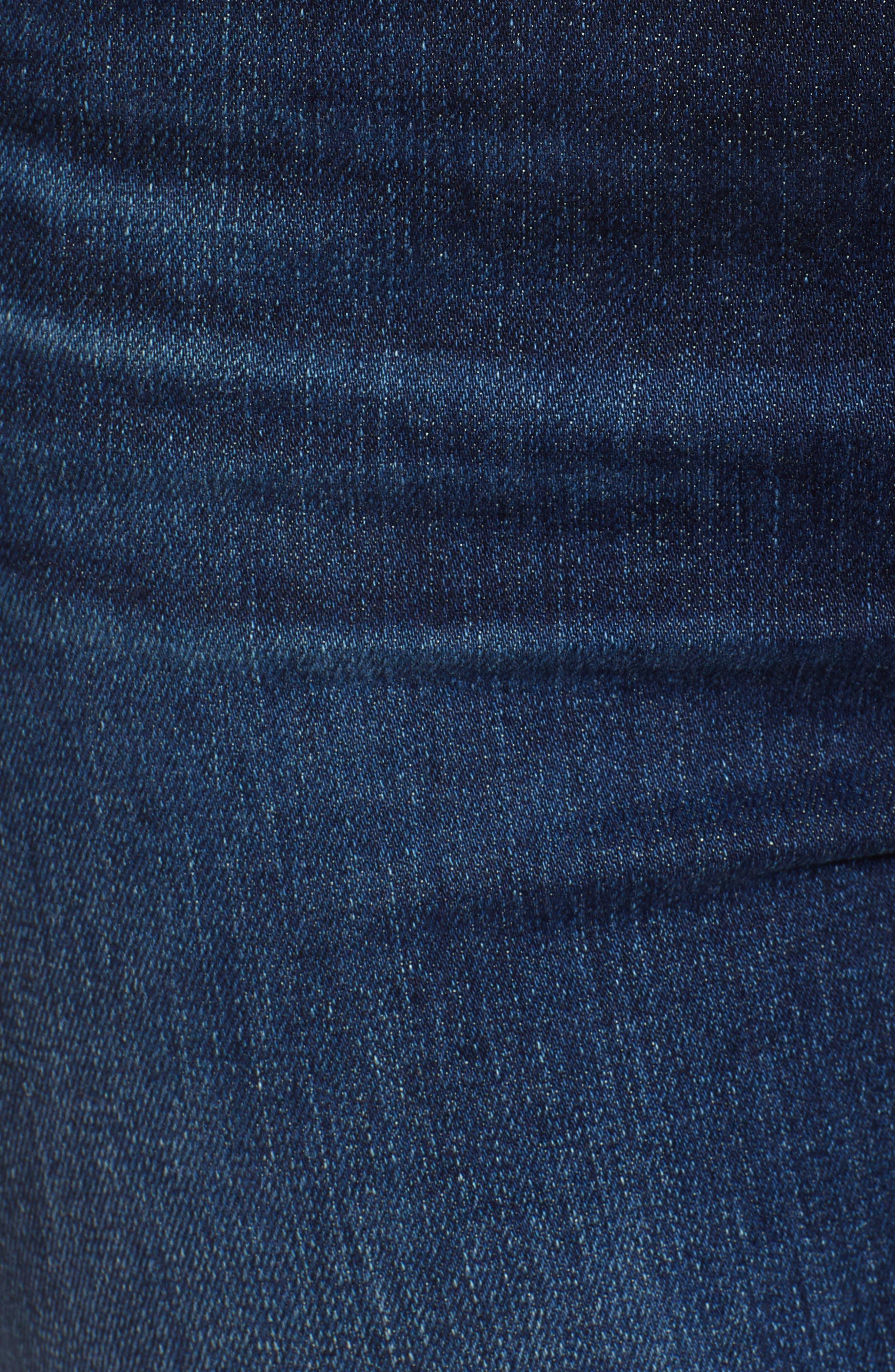 Mila Ankle Skinny Jeans,                             Alternate thumbnail 6, color,                             402