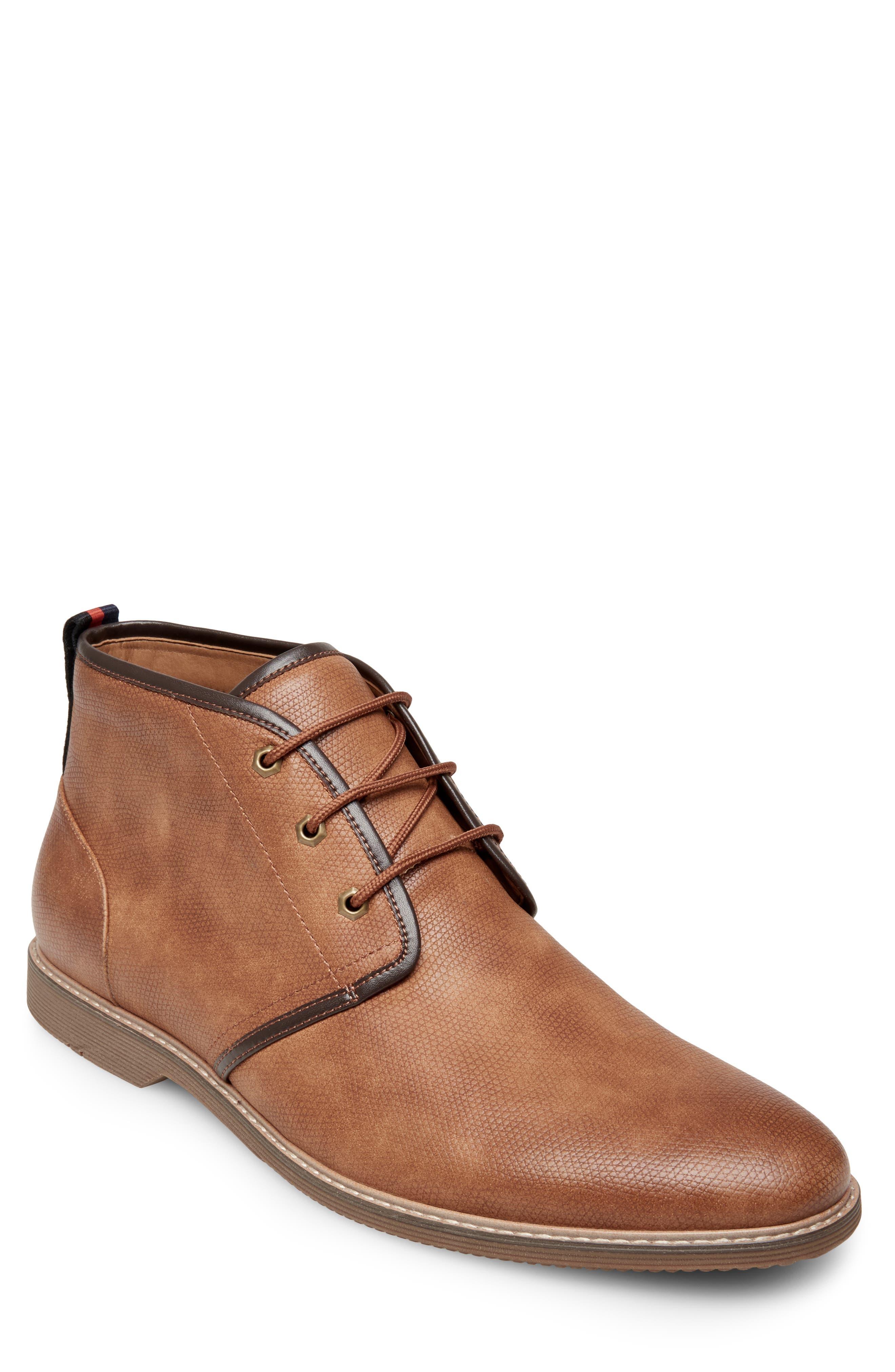 Nurture Plain Toe Boot,                         Main,                         color, TAN LEATHER