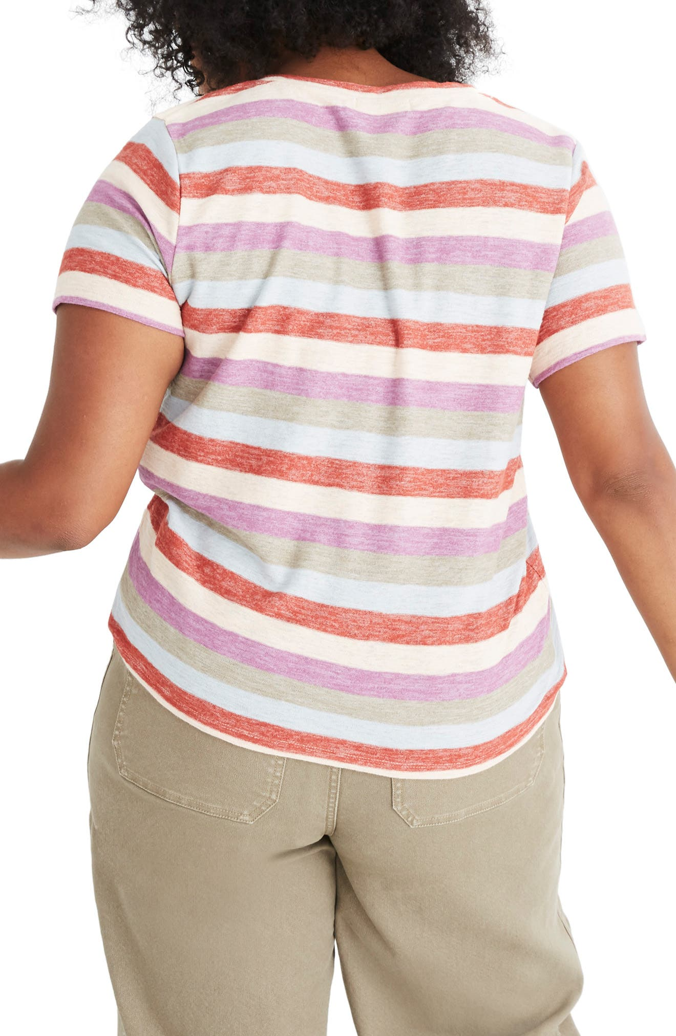 Alto Scoop Tee,                             Alternate thumbnail 6, color,                             400