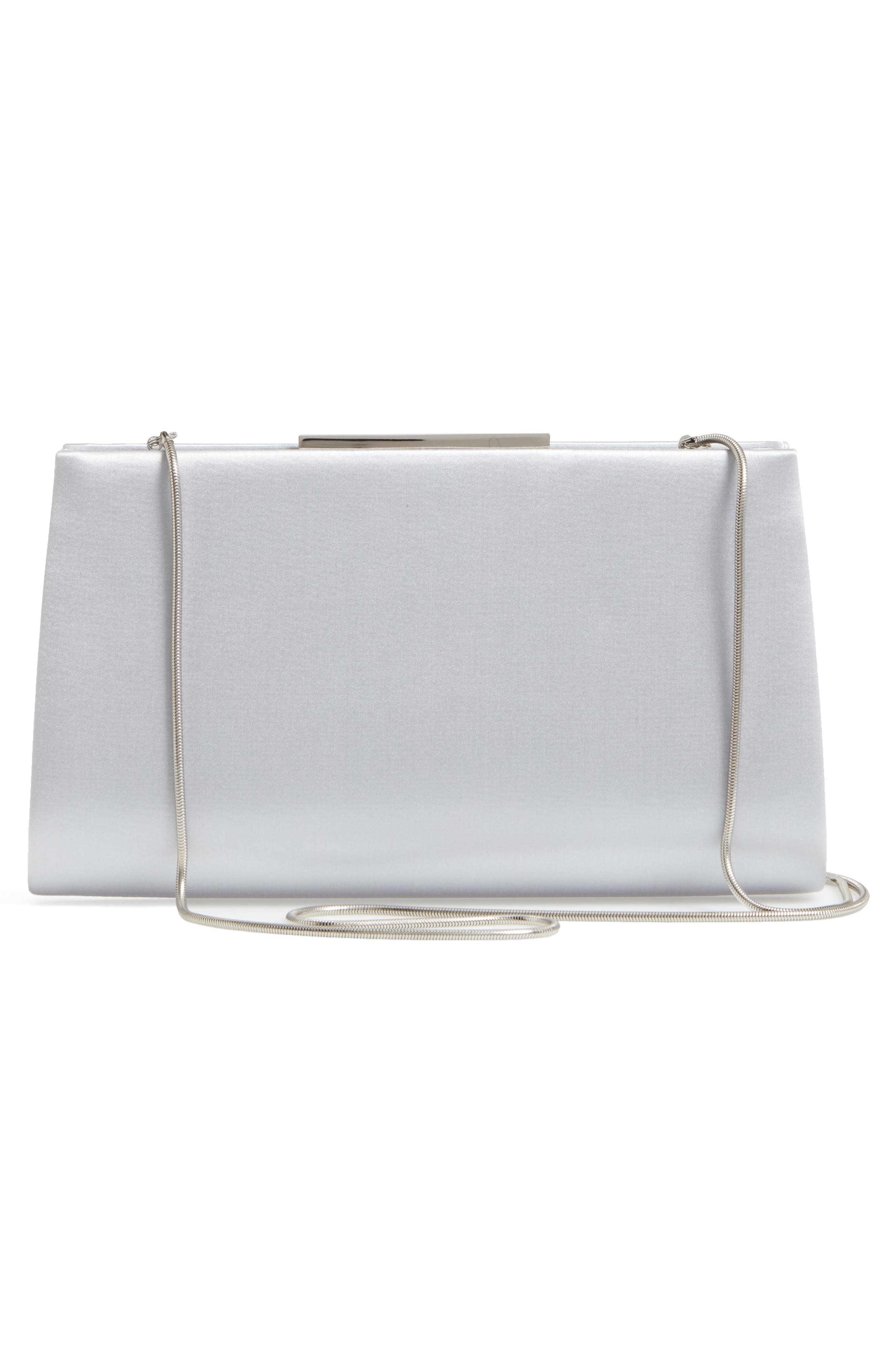 Dare Satin Clutch,                             Alternate thumbnail 7, color,