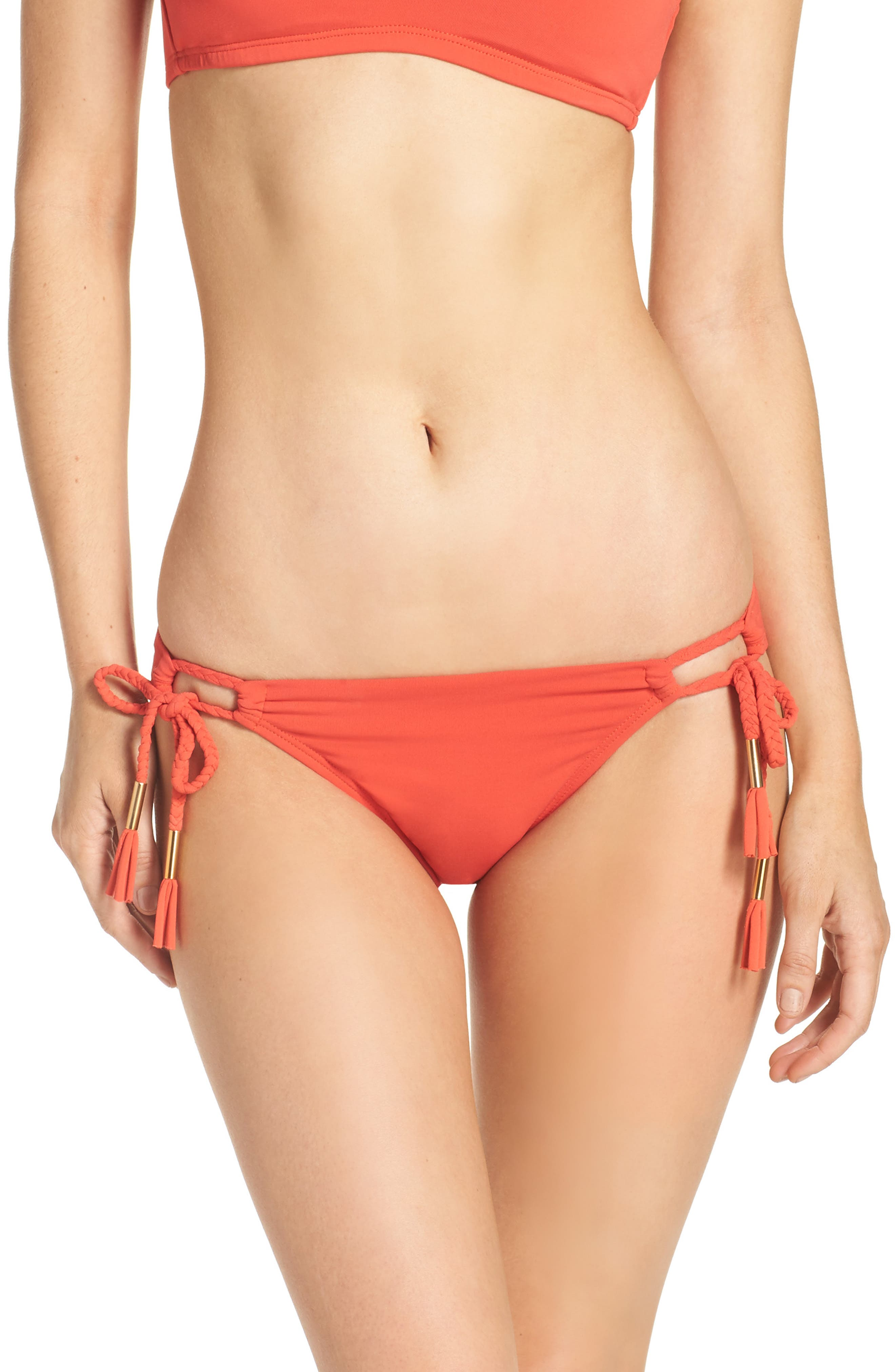 Side Tie Bikini Bottoms,                             Main thumbnail 5, color,