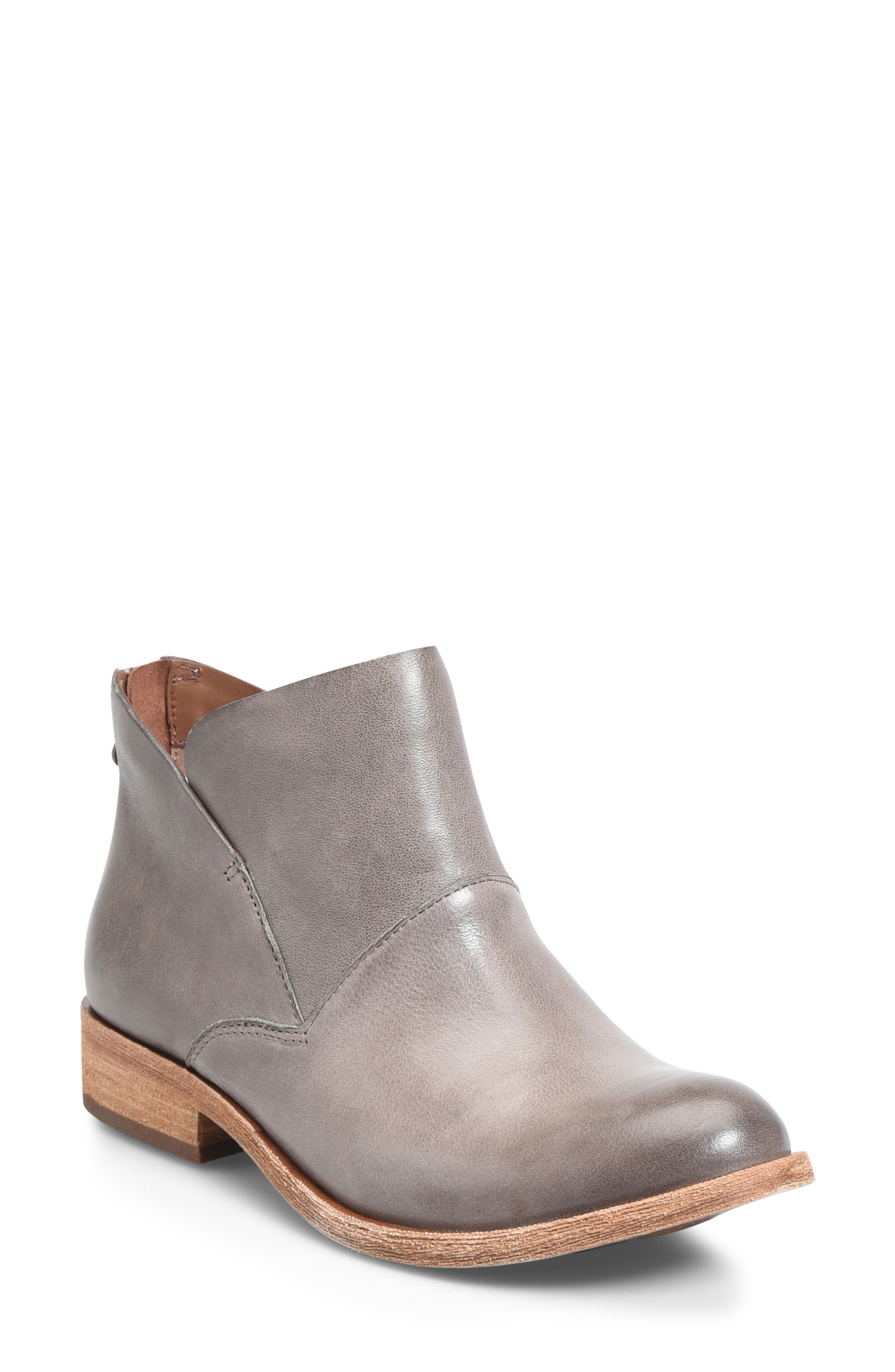 Ryder Ankle Boot,                             Main thumbnail 1, color,                             GREY LEATHER