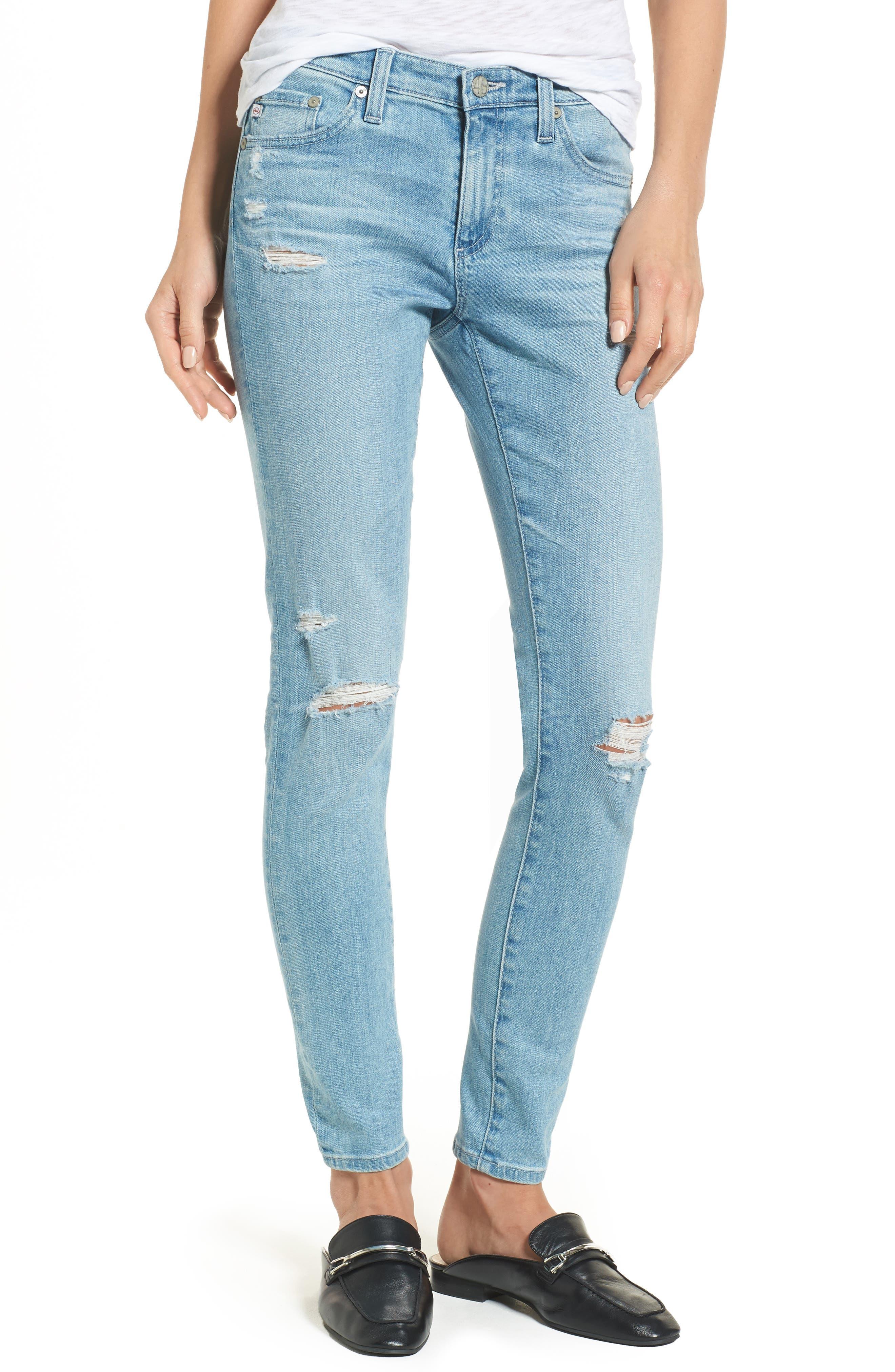 The Legging Ankle Super Skinny Jeans,                             Main thumbnail 10, color,
