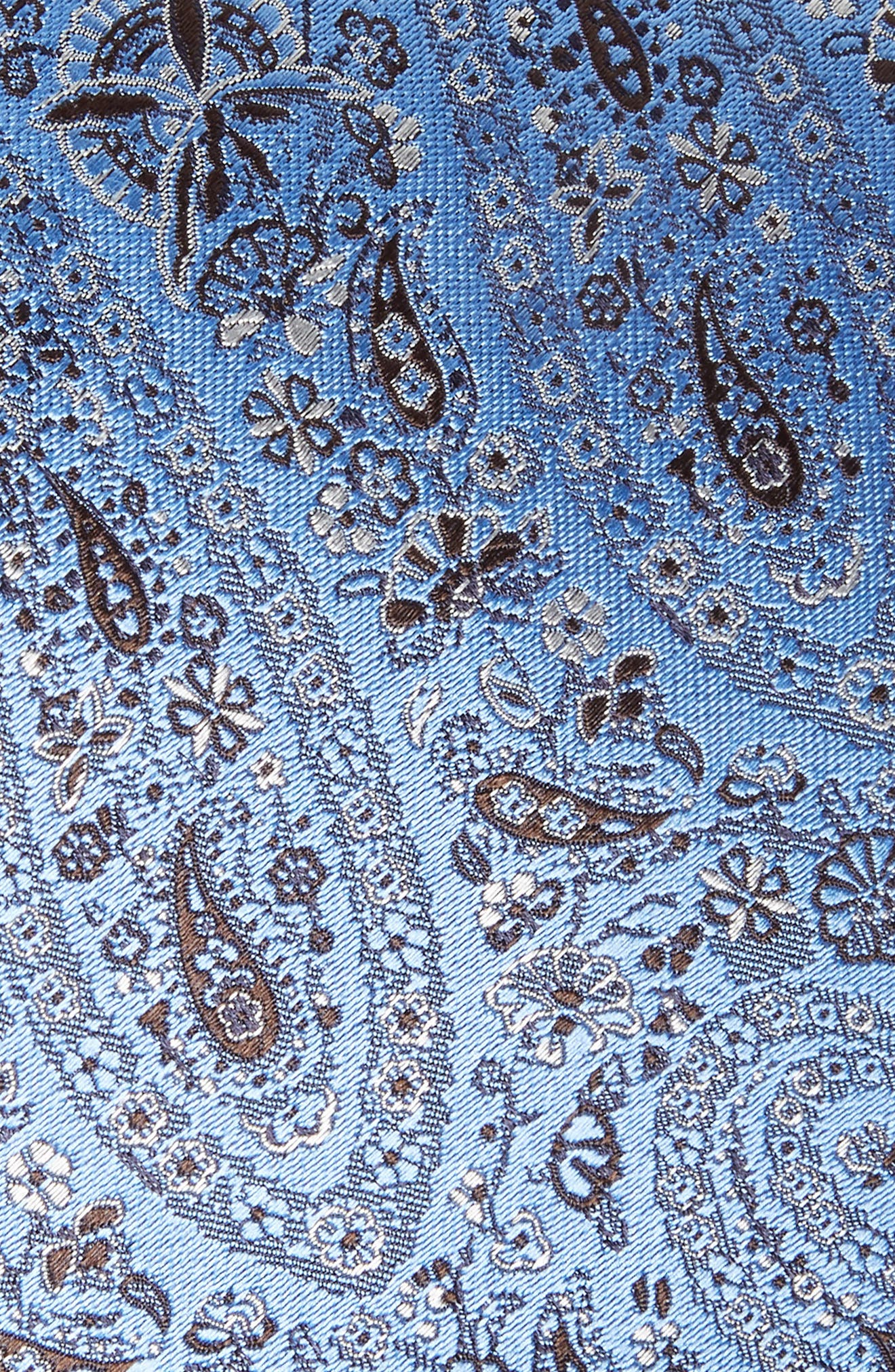 ERMENEGILDO ZEGNA,                             Floral Silk Tie,                             Alternate thumbnail 2, color,                             438