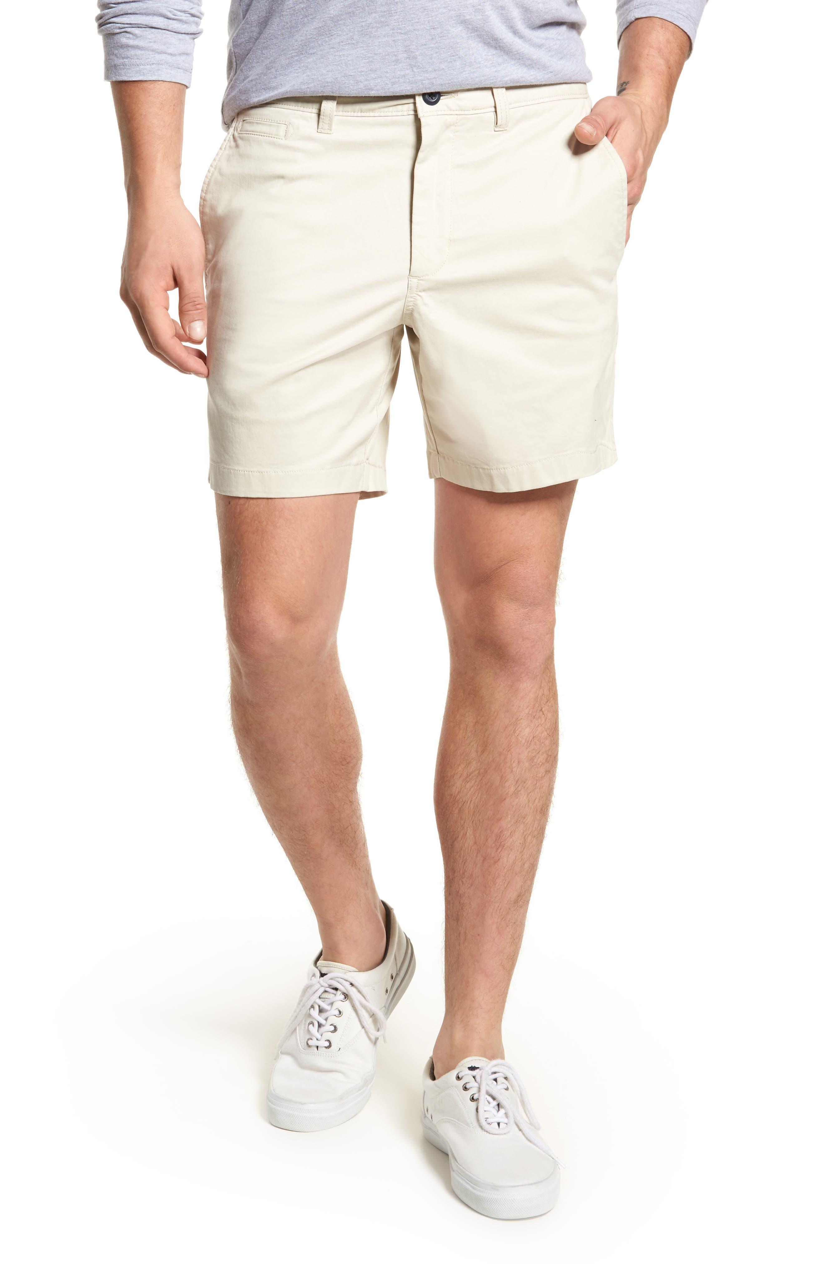 Ballard Slim Fit Stretch Chino 7-Inch Shorts,                             Main thumbnail 4, color,