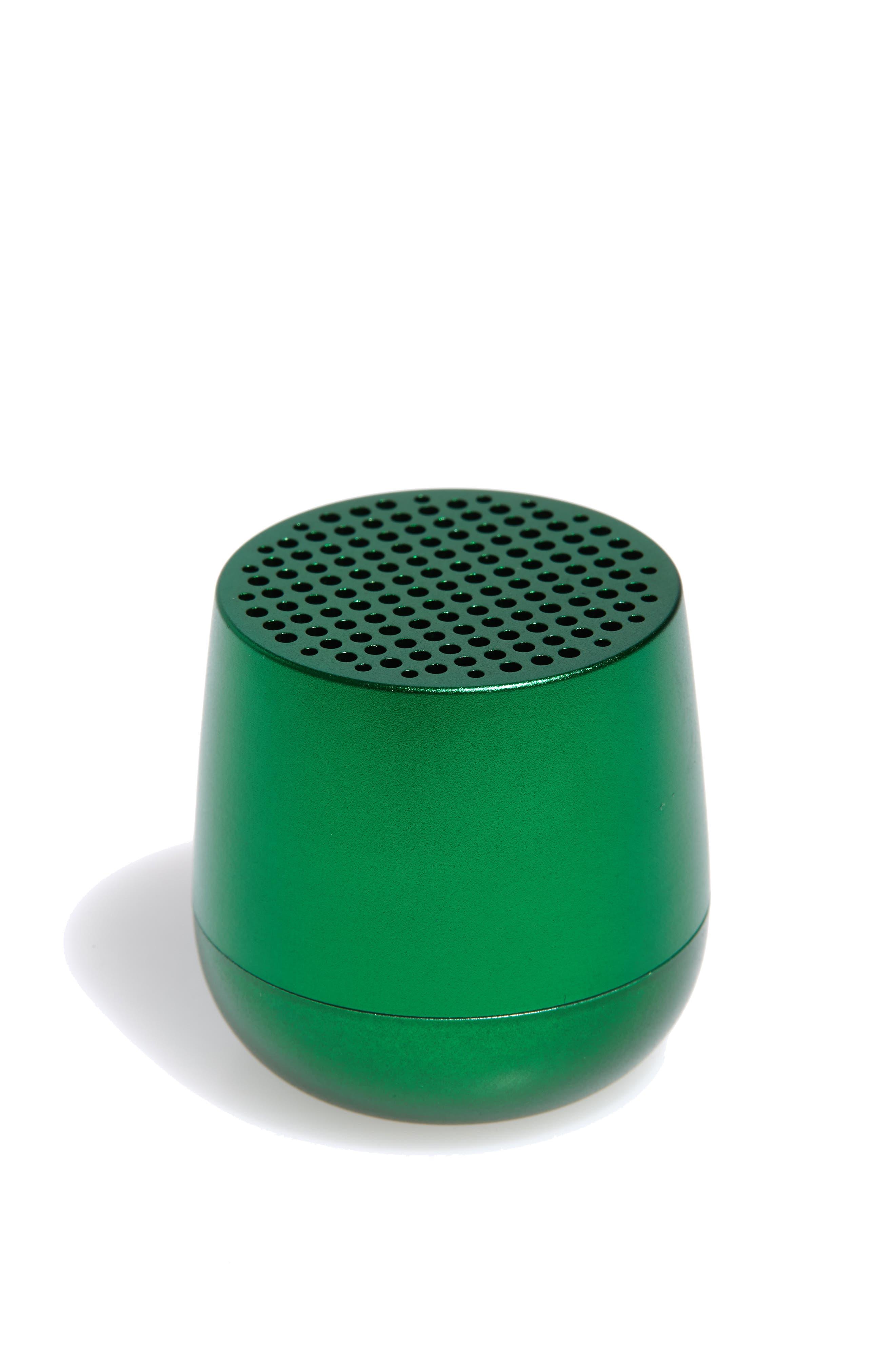 Mino Bluetooth<sup>®</sup> Speaker,                             Main thumbnail 1, color,                             DARK GREEN