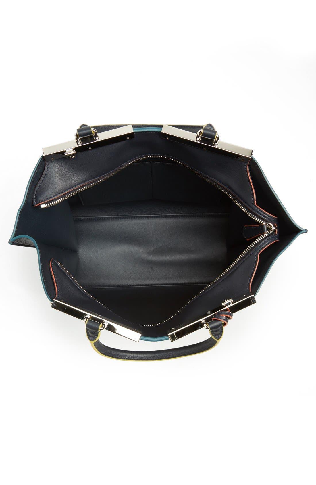 '3Jours' Leather Shopper,                             Alternate thumbnail 11, color,