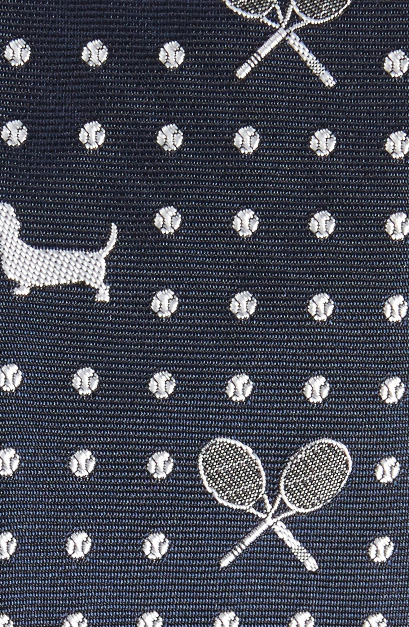 Hector Silk Skinny Tie,                             Alternate thumbnail 2, color,                             415