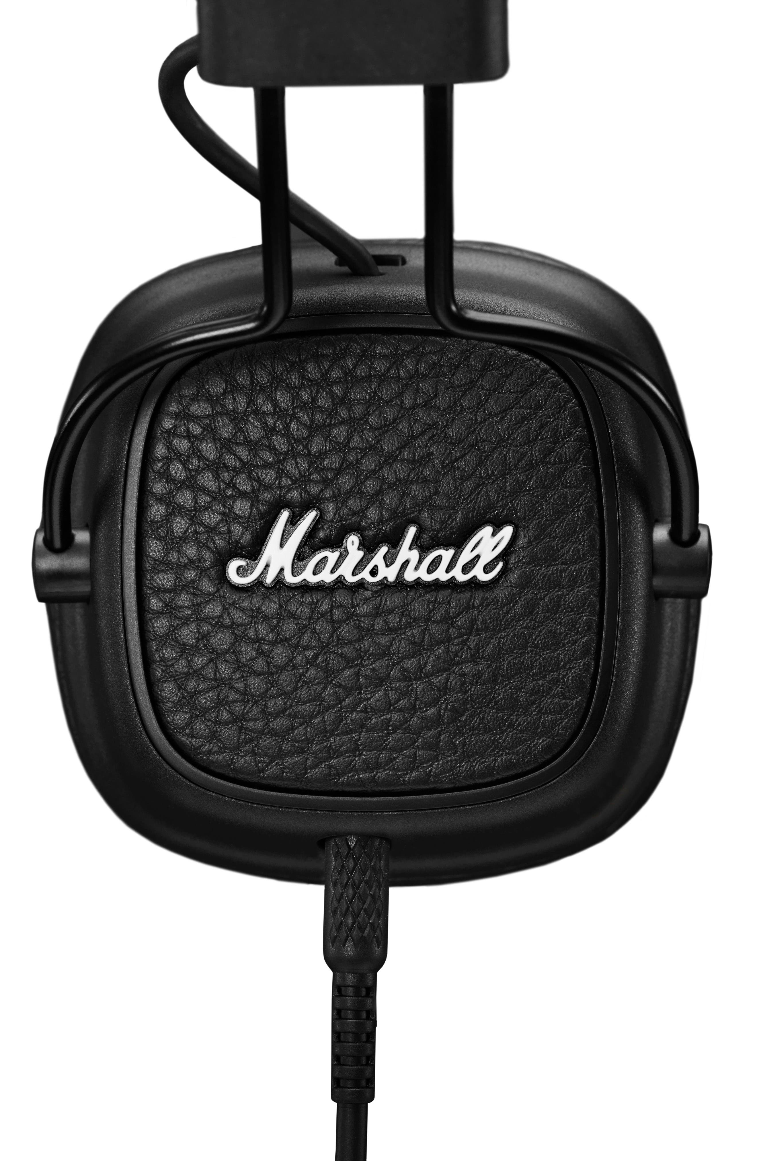 Major III Wired Headphones,                             Alternate thumbnail 2, color,                             BLACK