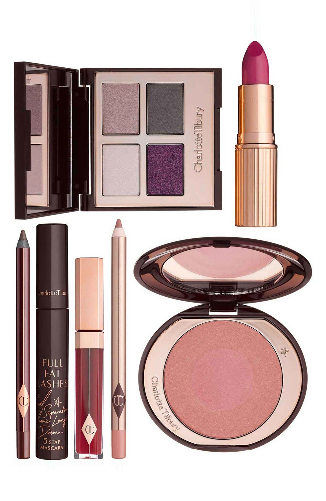The Glamour Muse Look Set, Main, color, NO COLOR