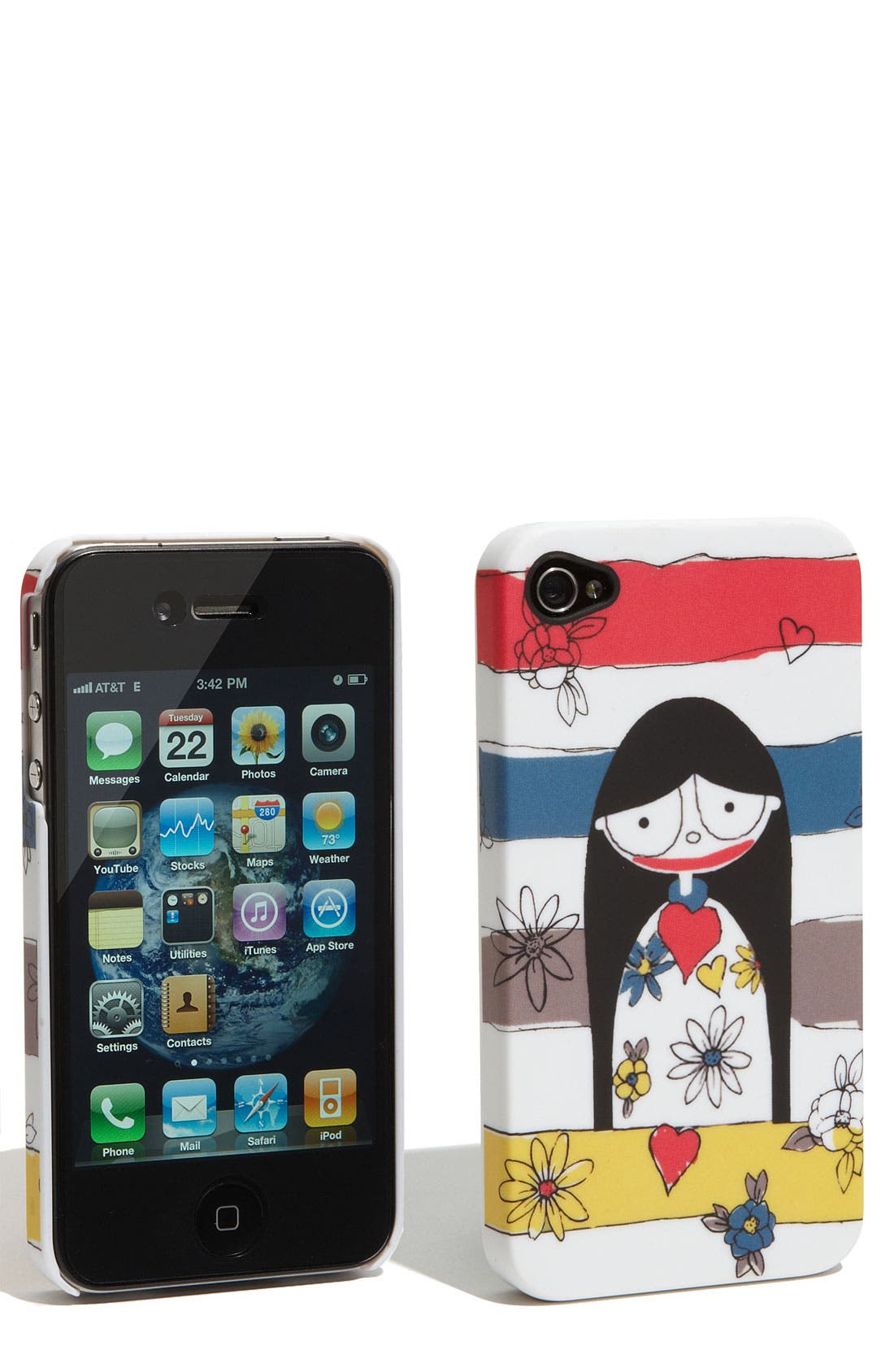 MARC JACOBS MARC BY MARC JACOBS 'Miss Marc' iPhone 4 & 4S Cover, Main, color, 118