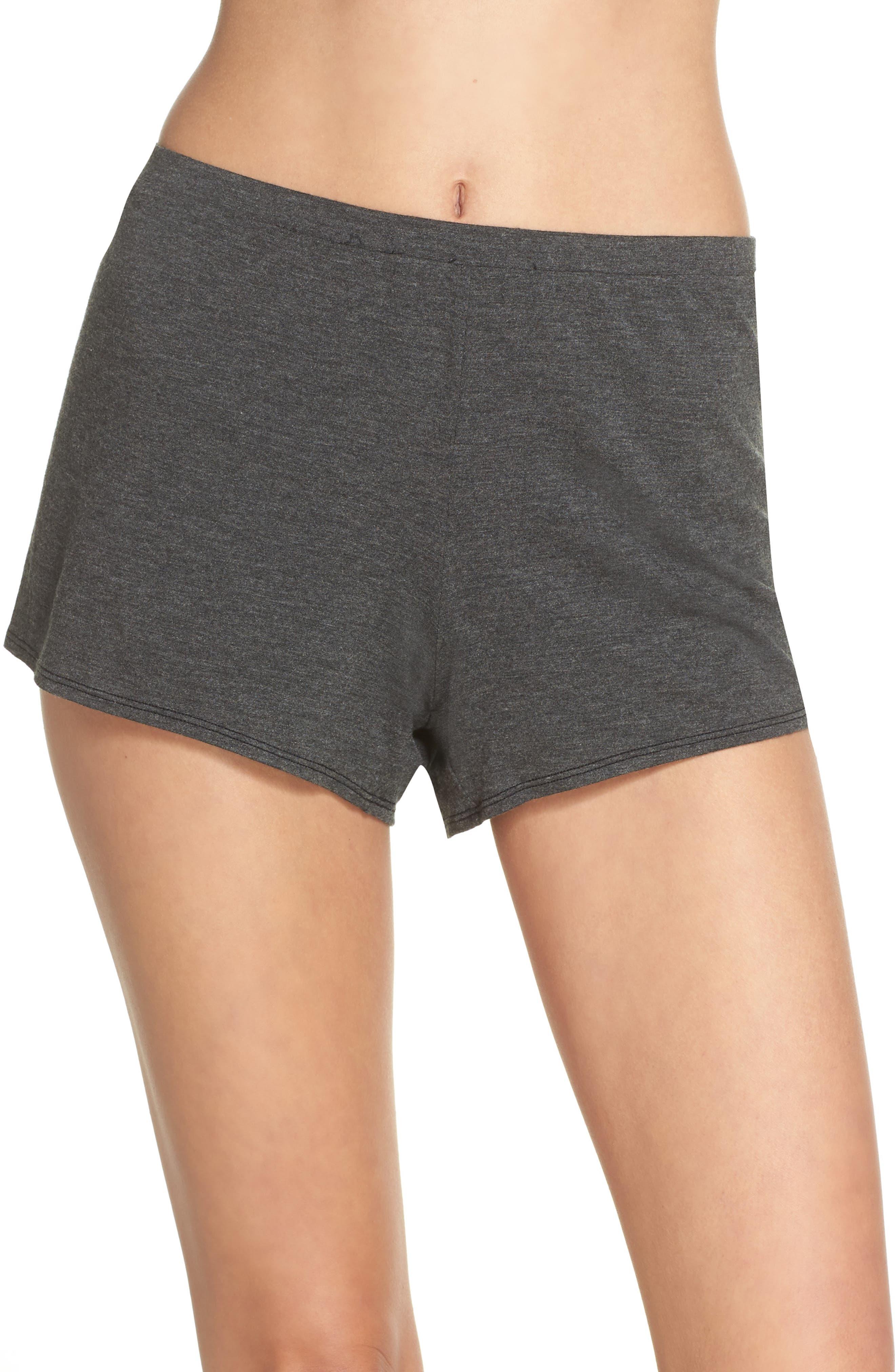 Undressed Pajama Shorts,                             Main thumbnail 1, color,                             001