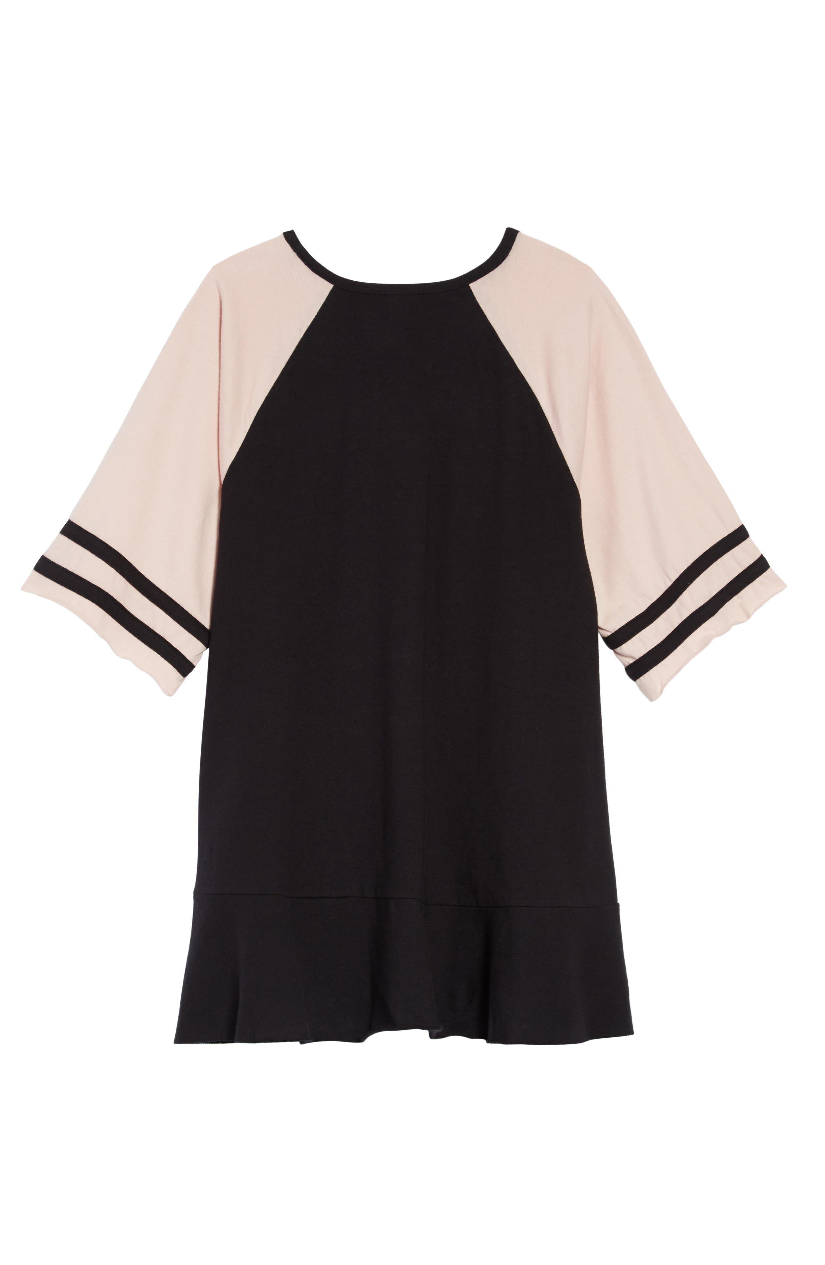 Varsity Dress,                             Alternate thumbnail 2, color,                             001