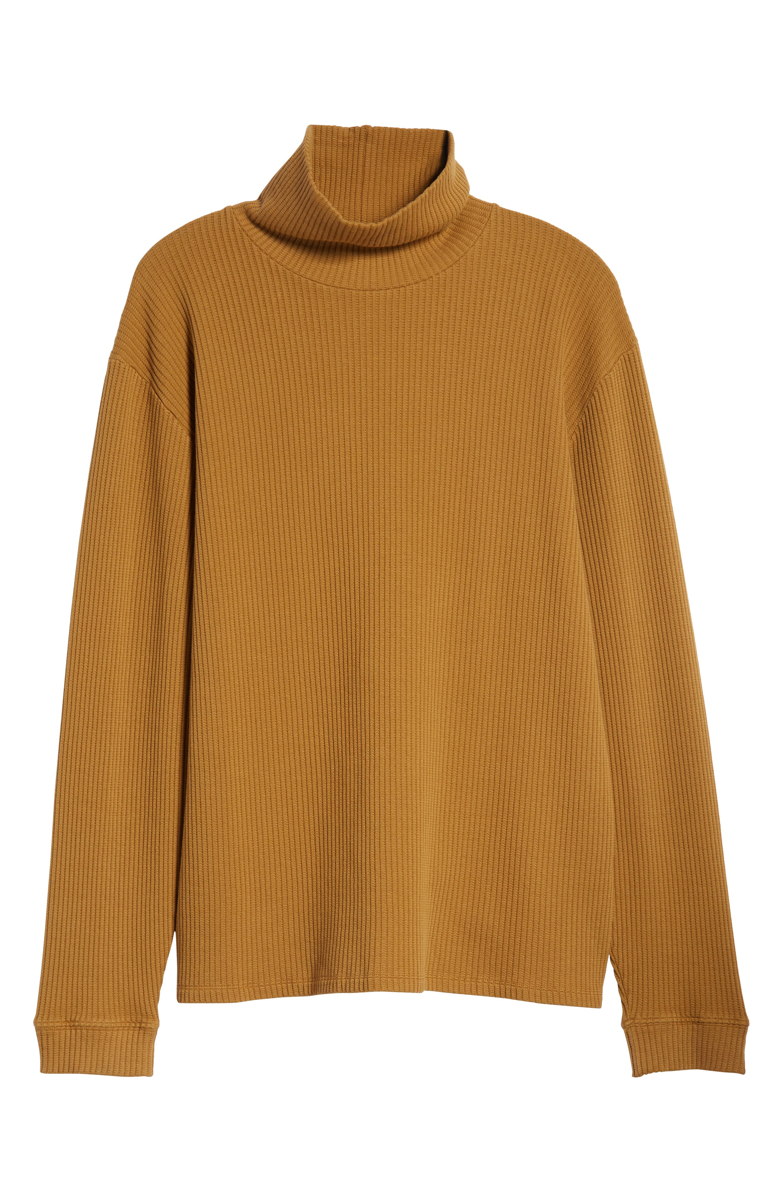 Henrik Turtleneck Sweater,                             Alternate thumbnail 6, color,                             BURNT KHAKI