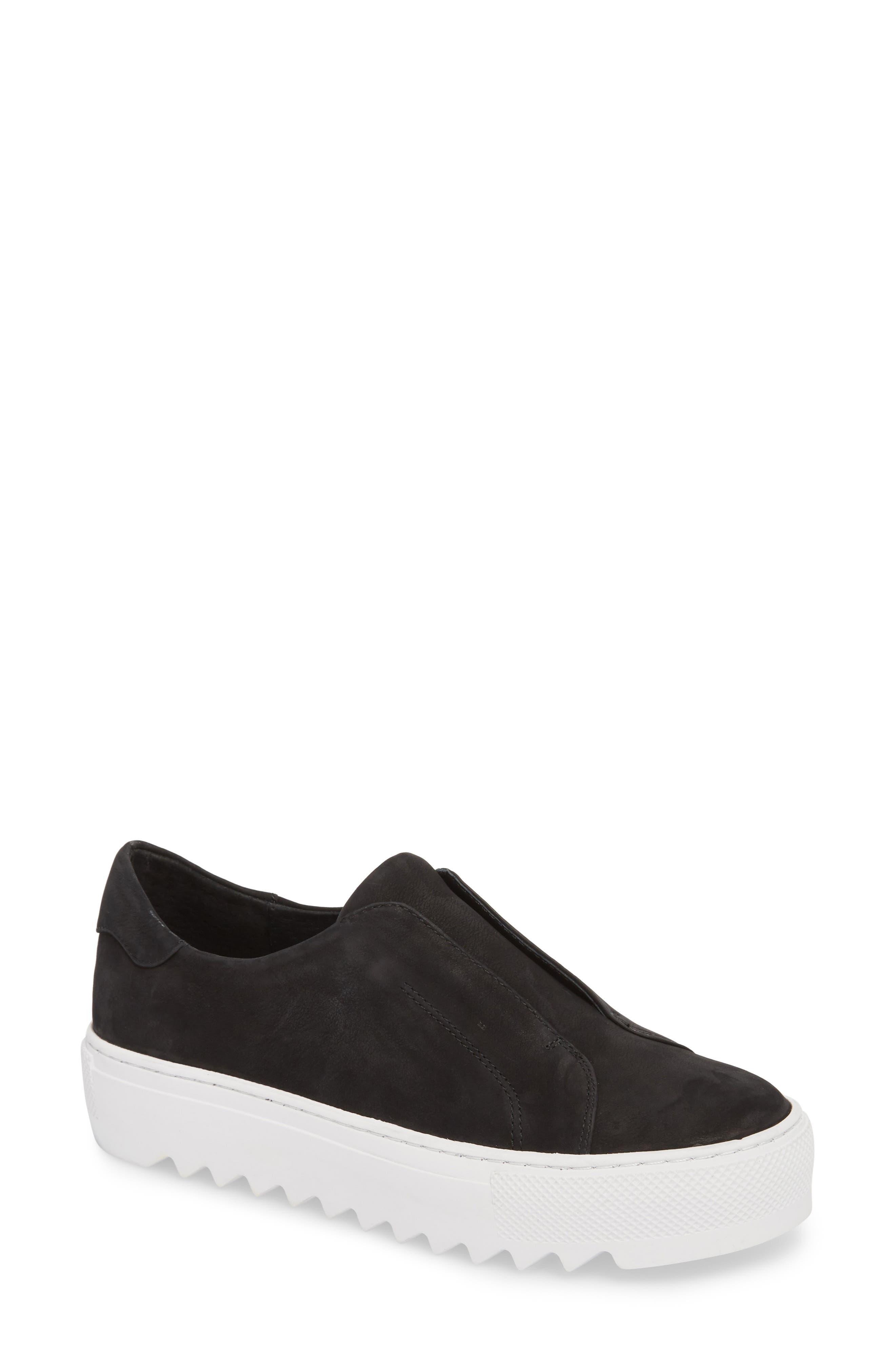Spazo Slip-On Platform Sneaker,                             Main thumbnail 1, color,                             001