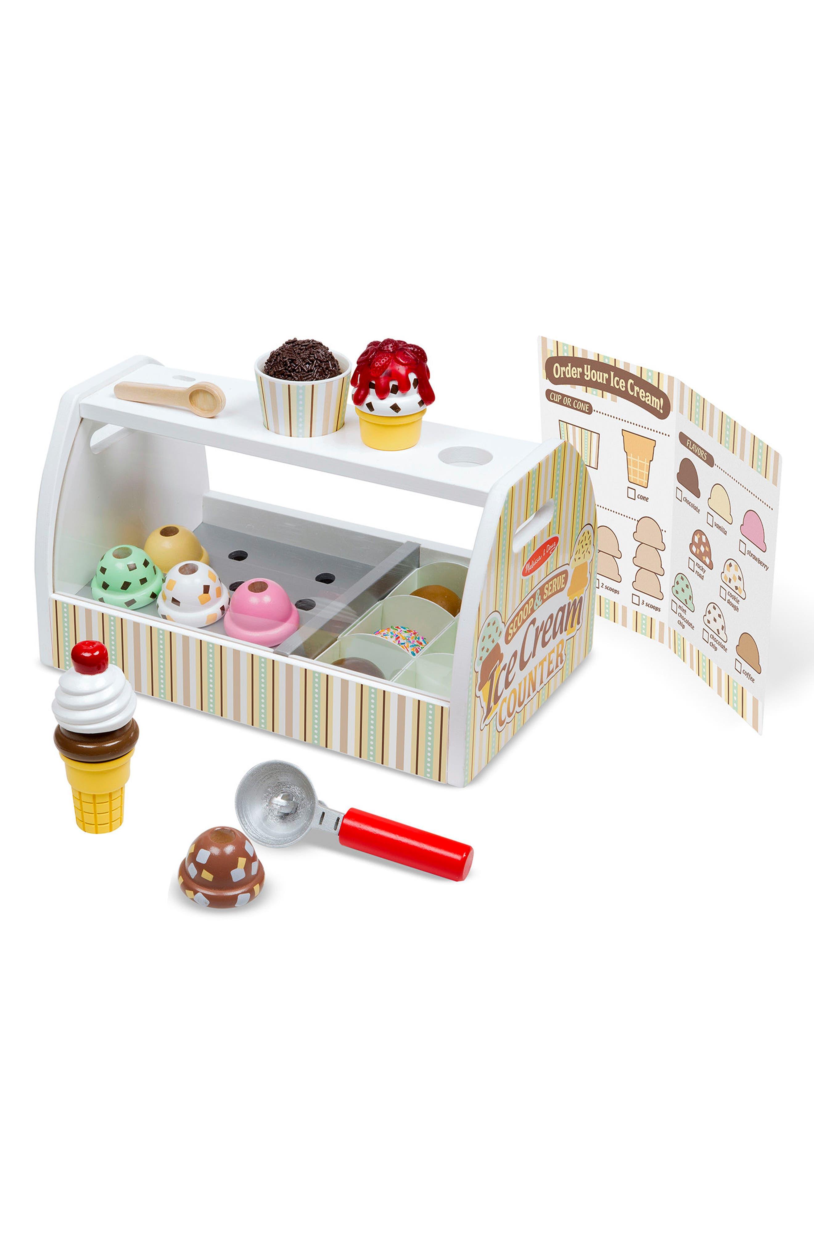 Ice Cream Counter Play Set,                             Alternate thumbnail 2, color,                             MULTI