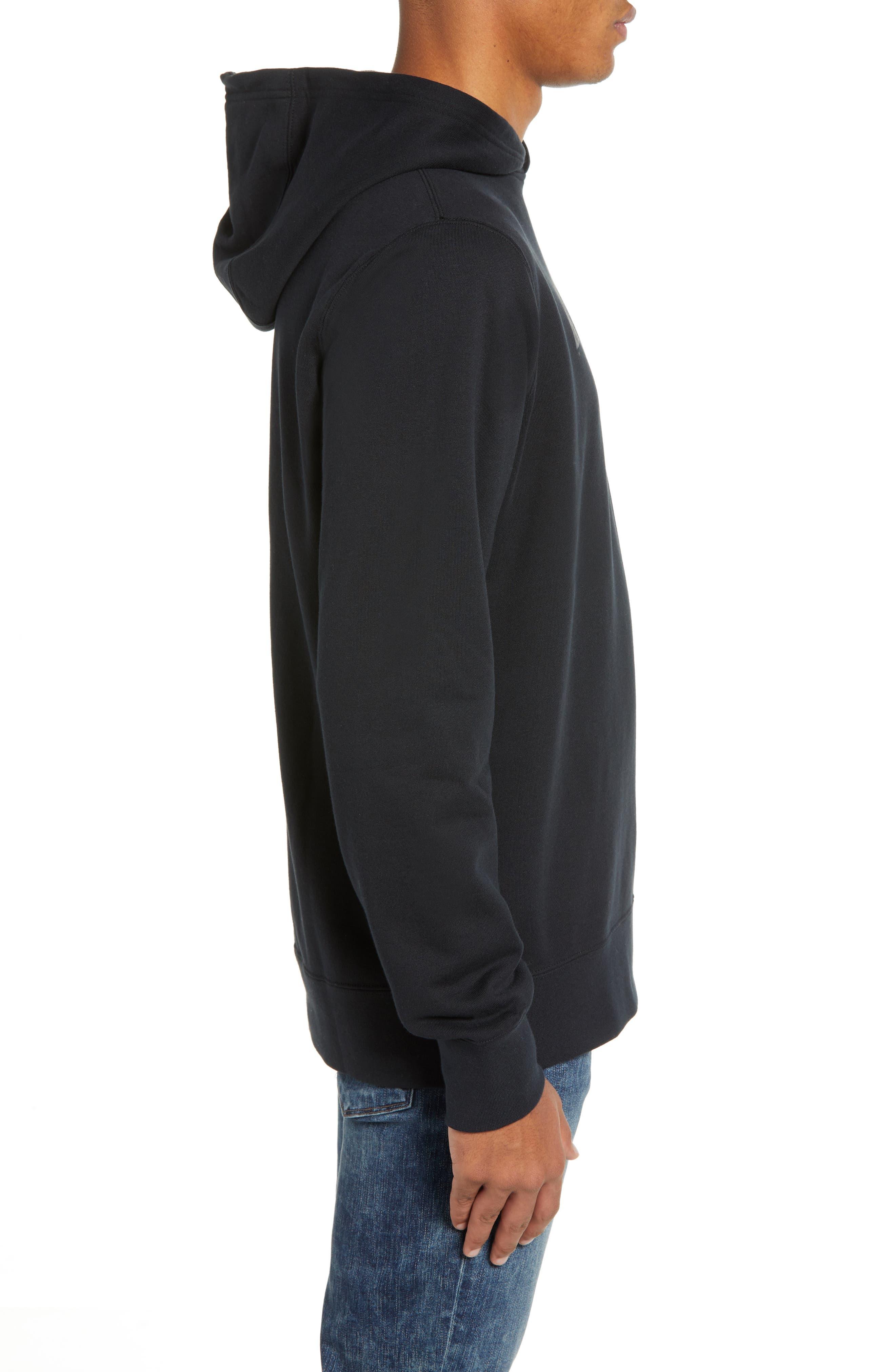 Sportswear ACG Pullover Hoodie,                             Alternate thumbnail 3, color,                             BLACK/ BLACK