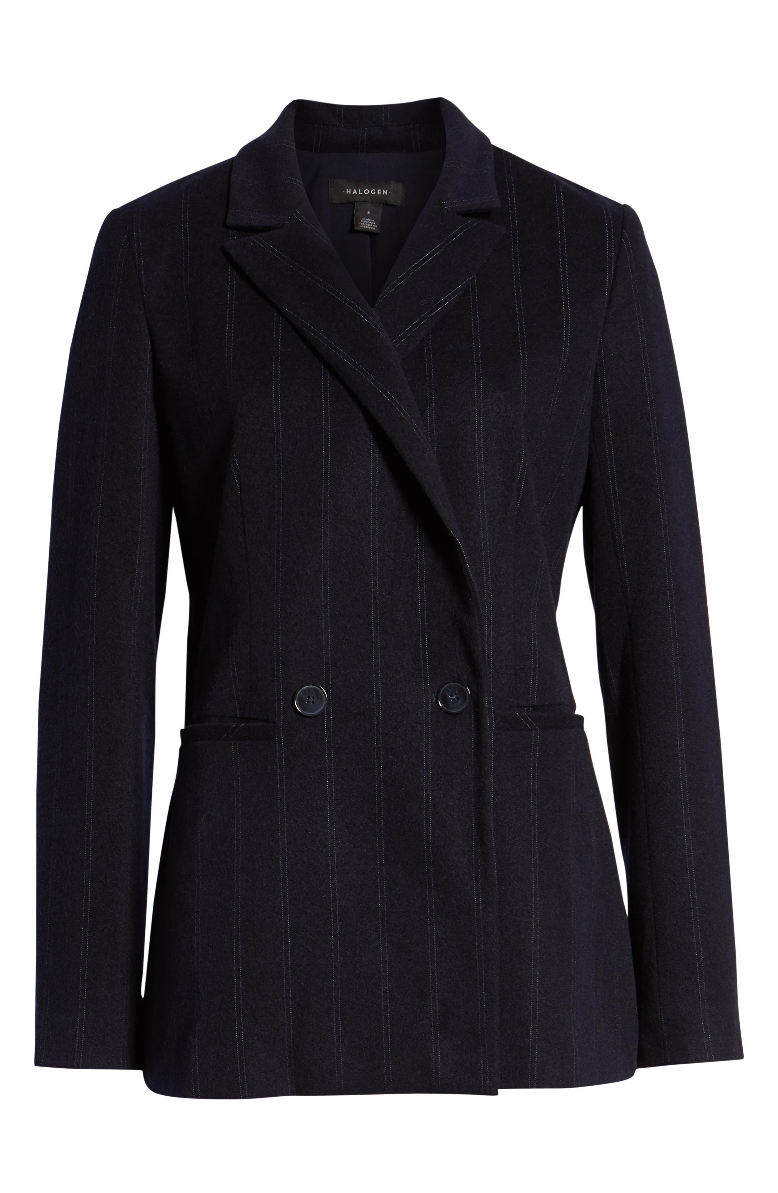 Stripe Suit Jacket,                             Alternate thumbnail 6, color,                             410