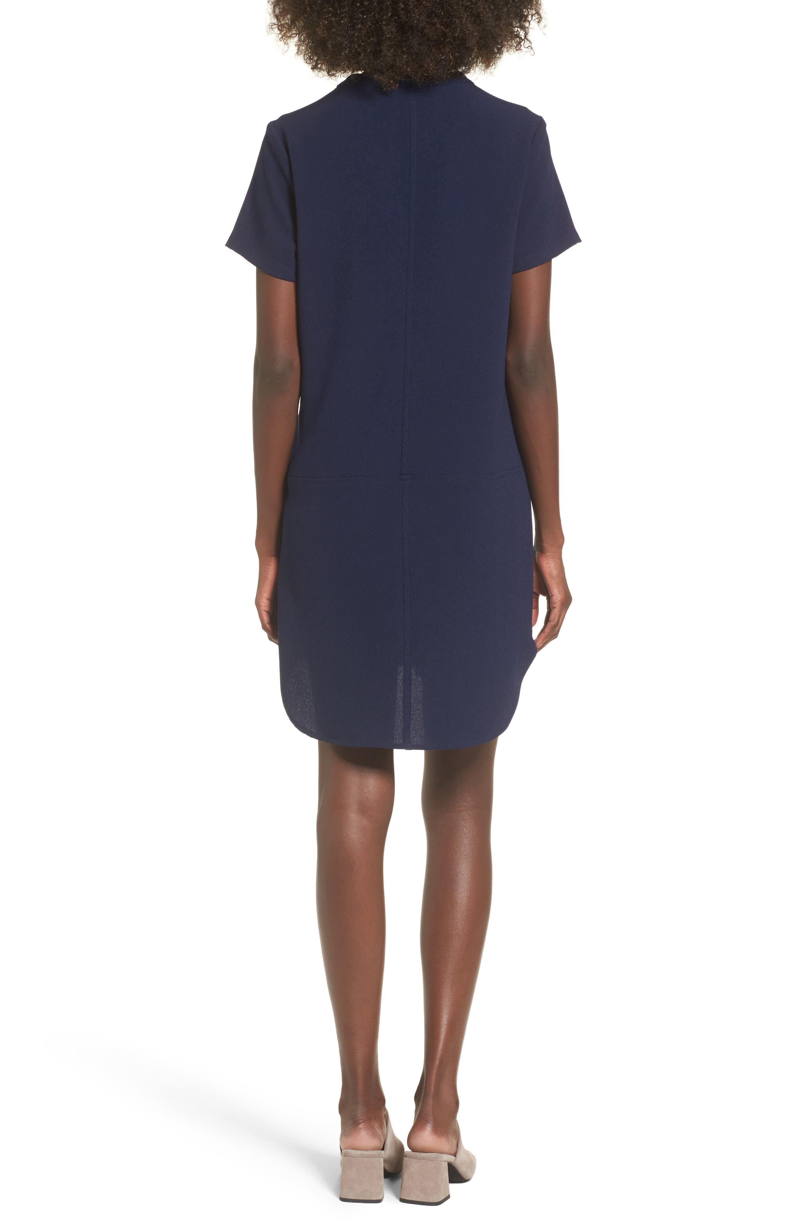 Hailey Crepe Dress,                             Alternate thumbnail 40, color,