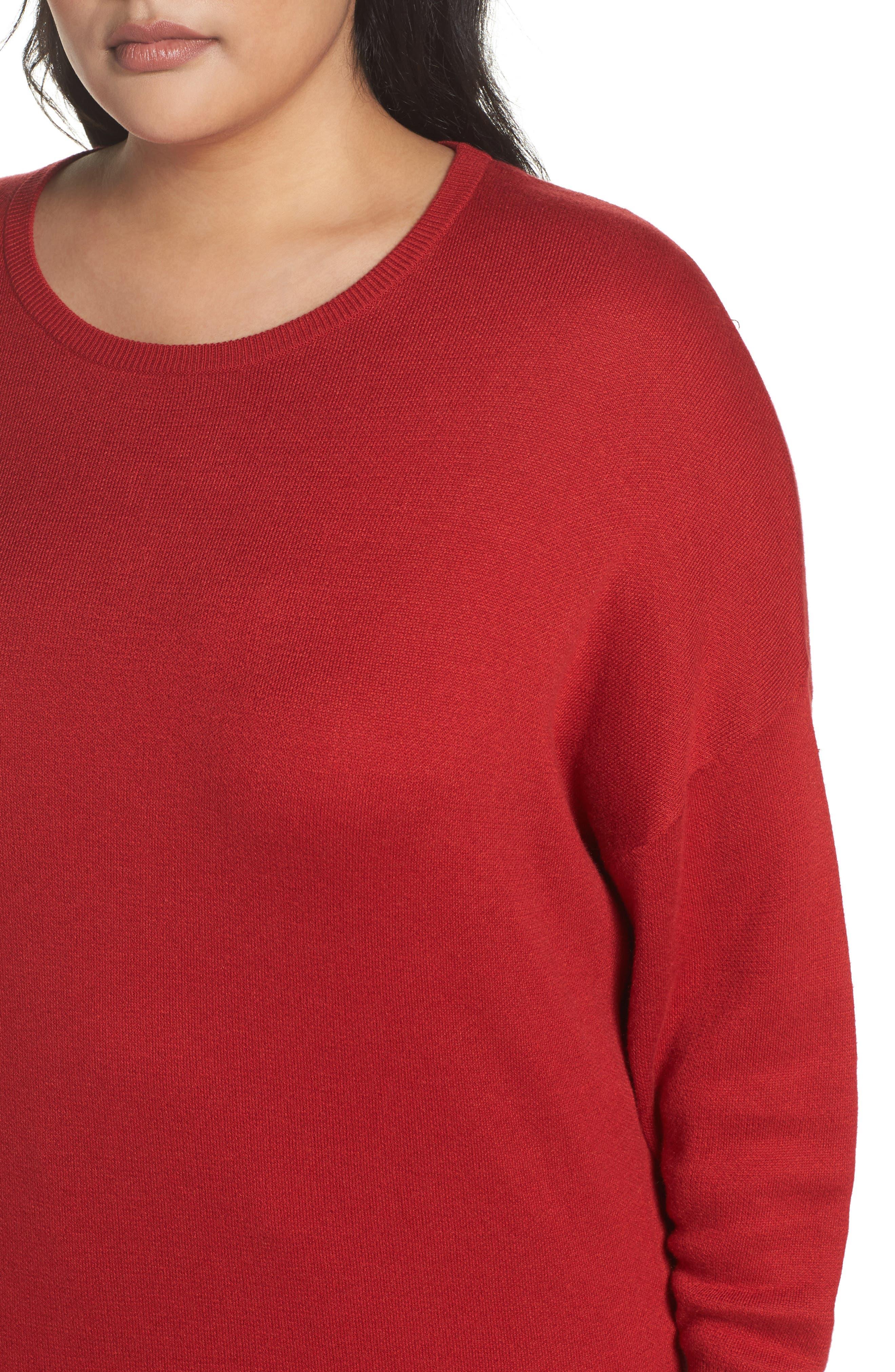 Dolman Sleeve Crewneck Sweater,                             Alternate thumbnail 20, color,