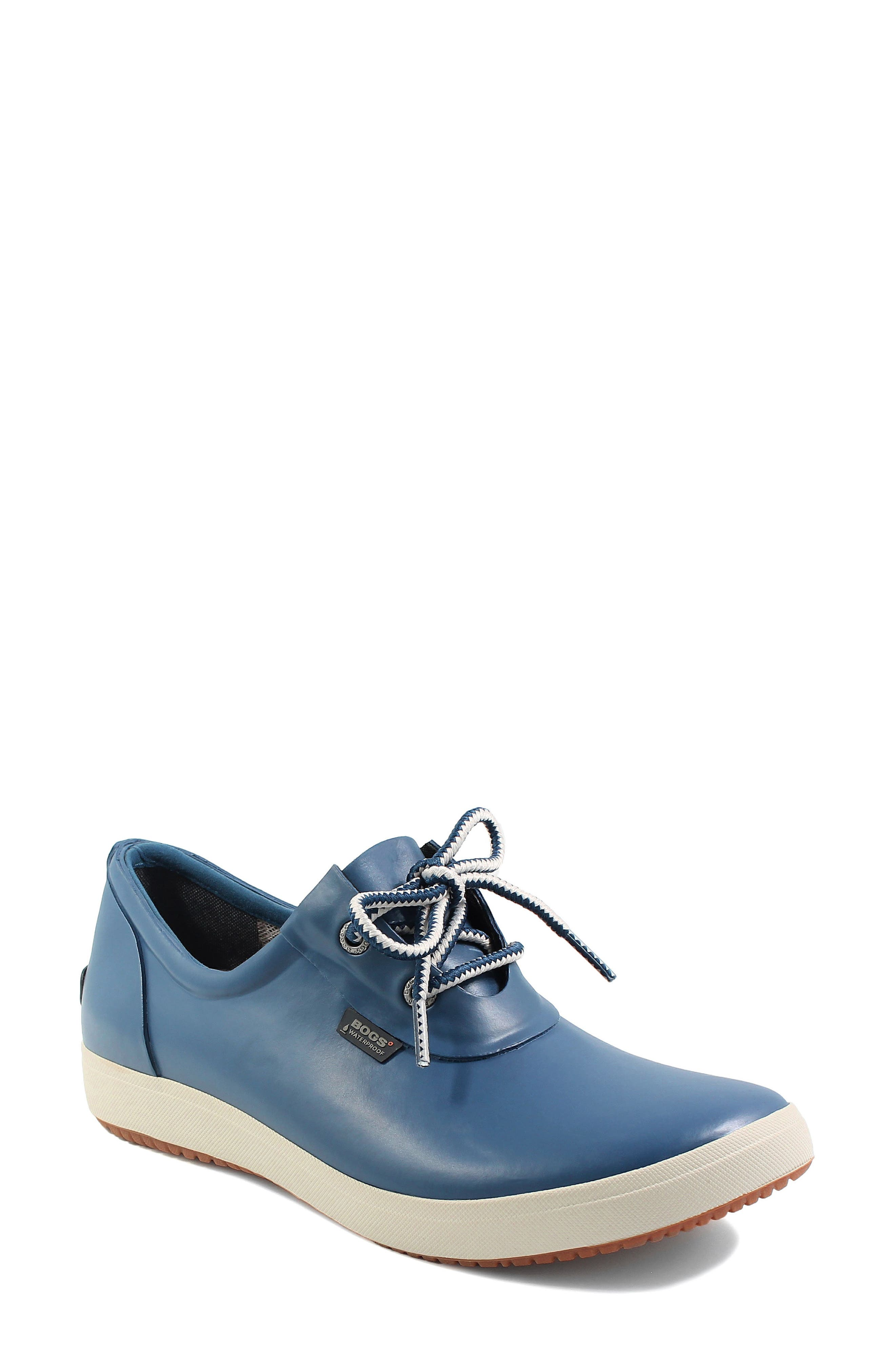 Bogs Quinn Waterproof Sneaker, Blue