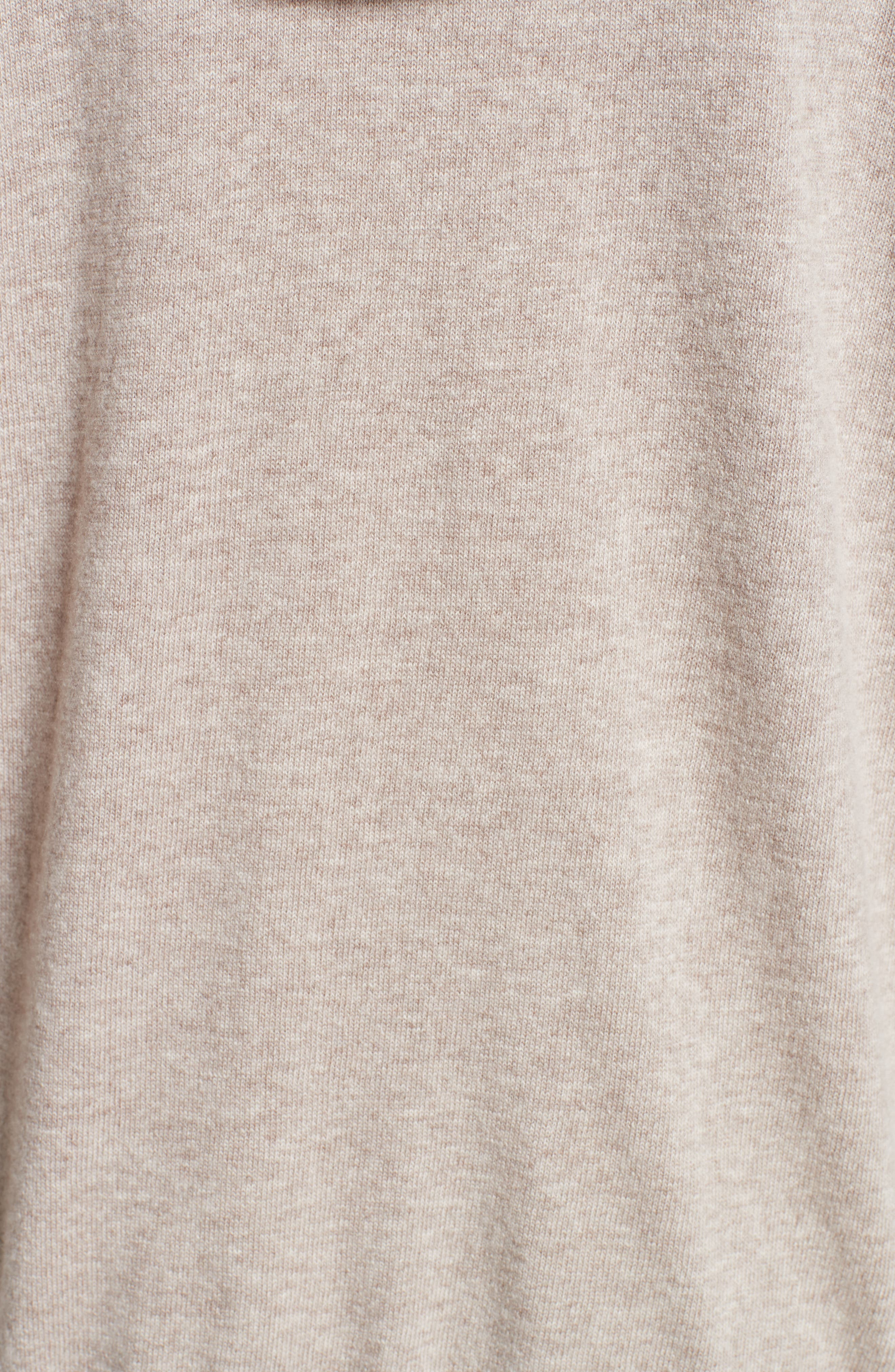 Nitra Wool & Cashmere Hooded Sweater,                             Alternate thumbnail 5, color,