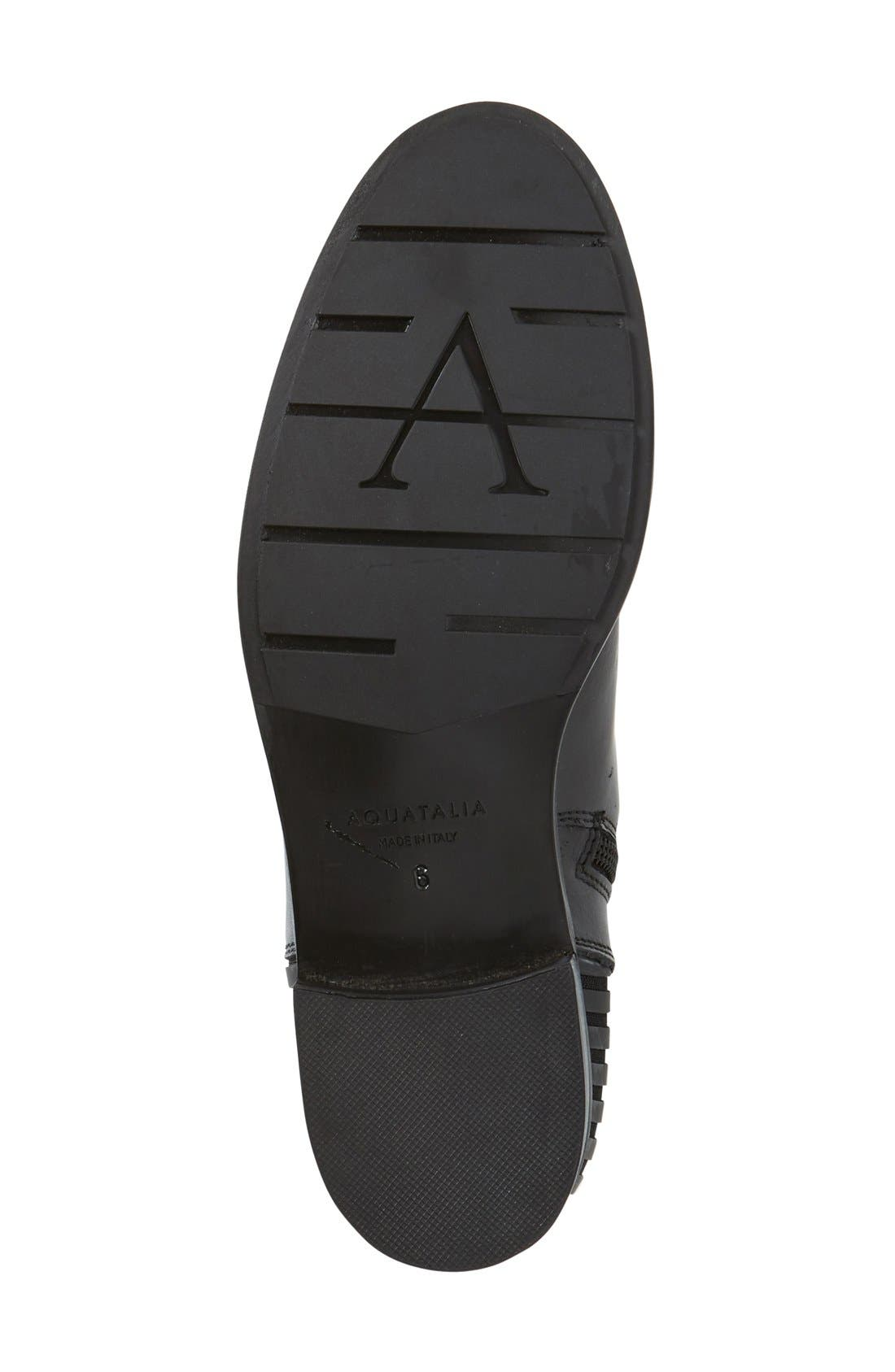 Orlena Weatherproof Tall Boot,                             Alternate thumbnail 4, color,                             001