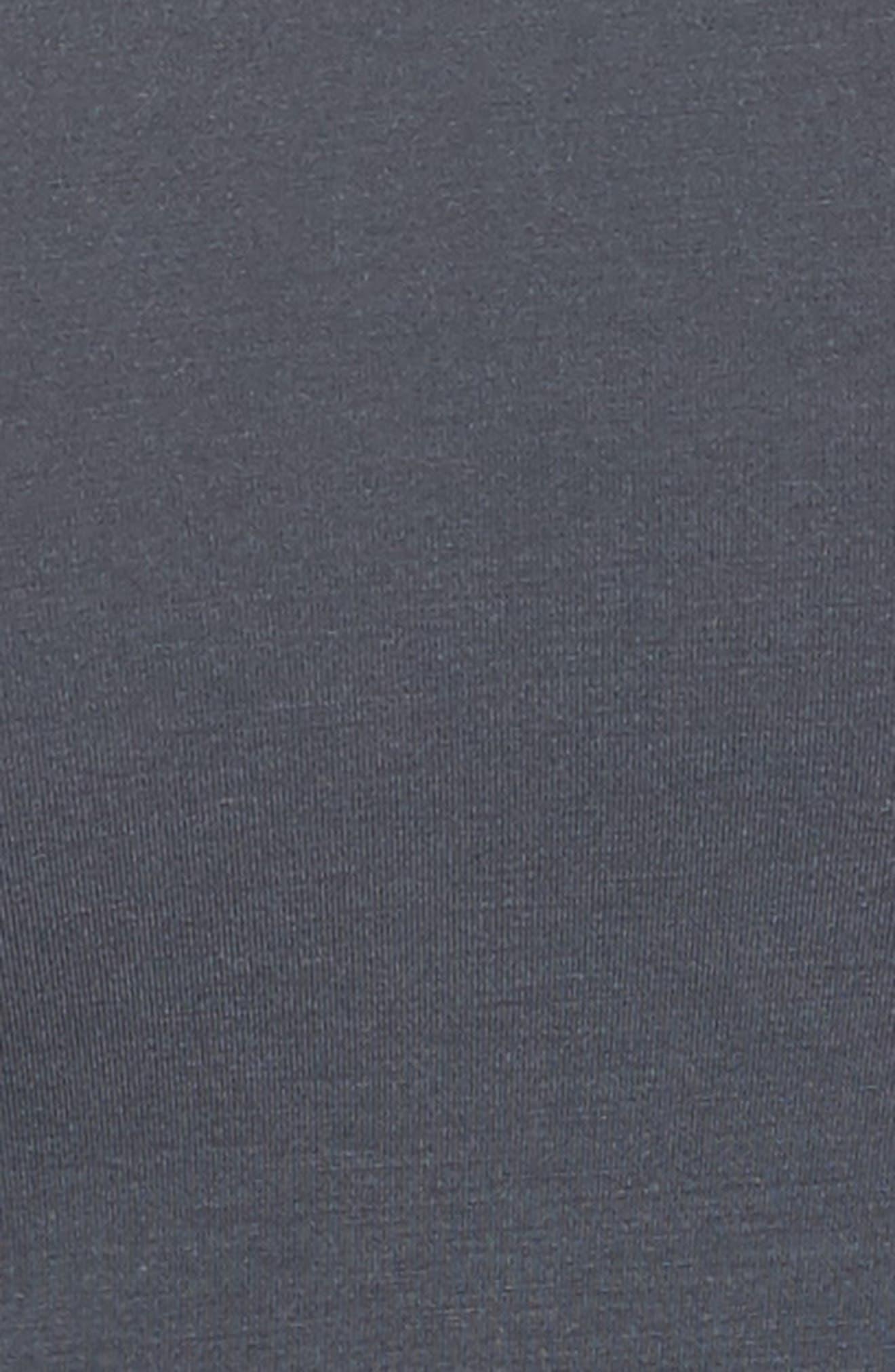 'U5551' Modal Blend Crewneck T-Shirt,                             Alternate thumbnail 5, color,                             MINK