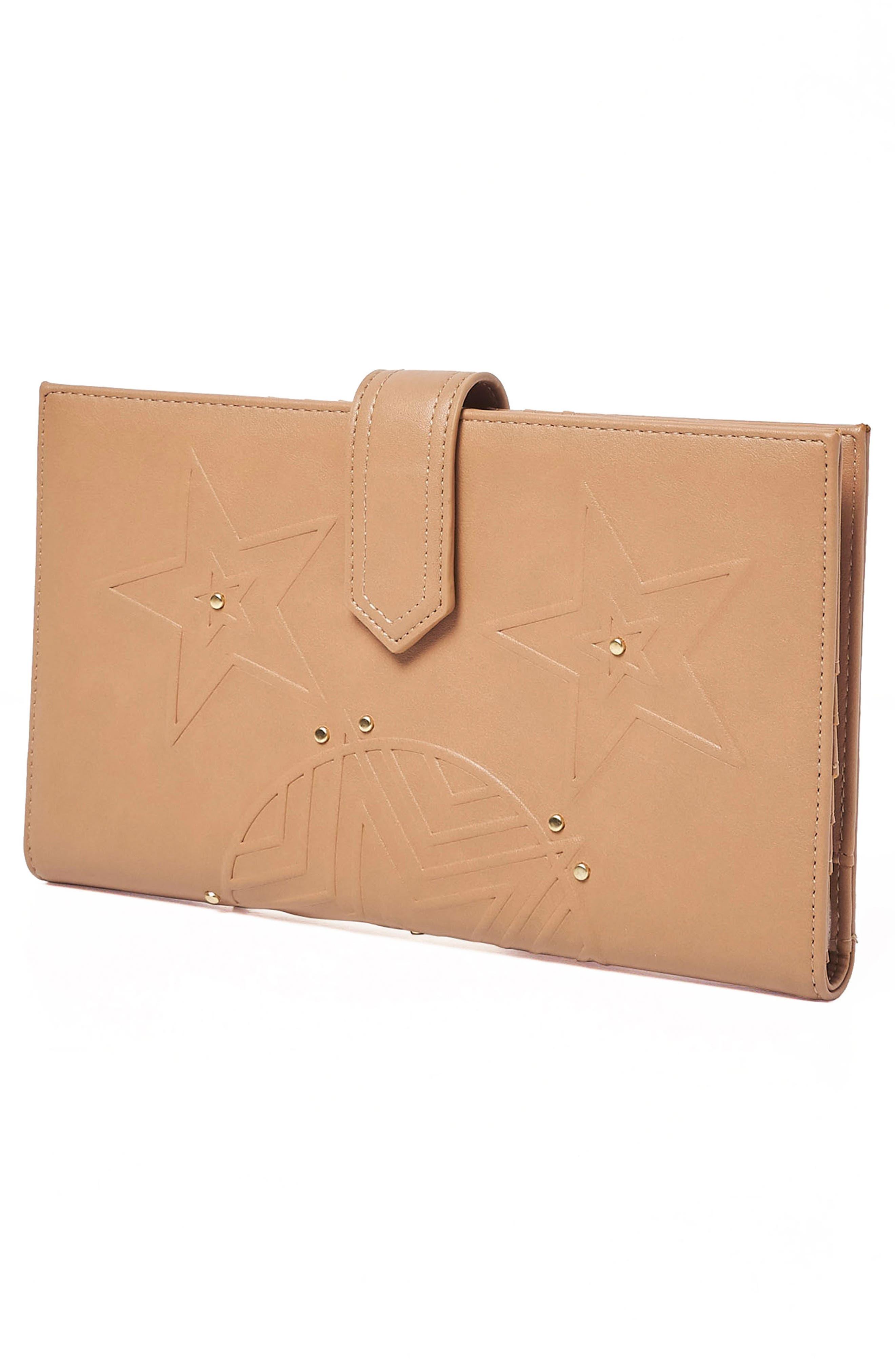 Starstruck Vegan Leather Wallet,                             Alternate thumbnail 9, color,