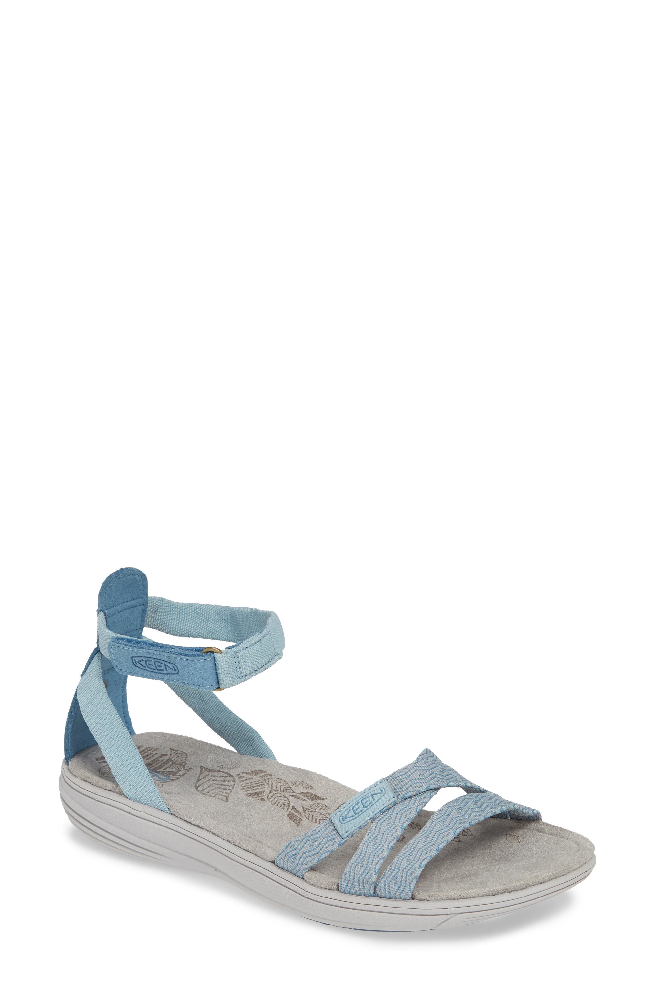 ef383abe45e Keen Damaya Ankle Strap Sandal- Blue