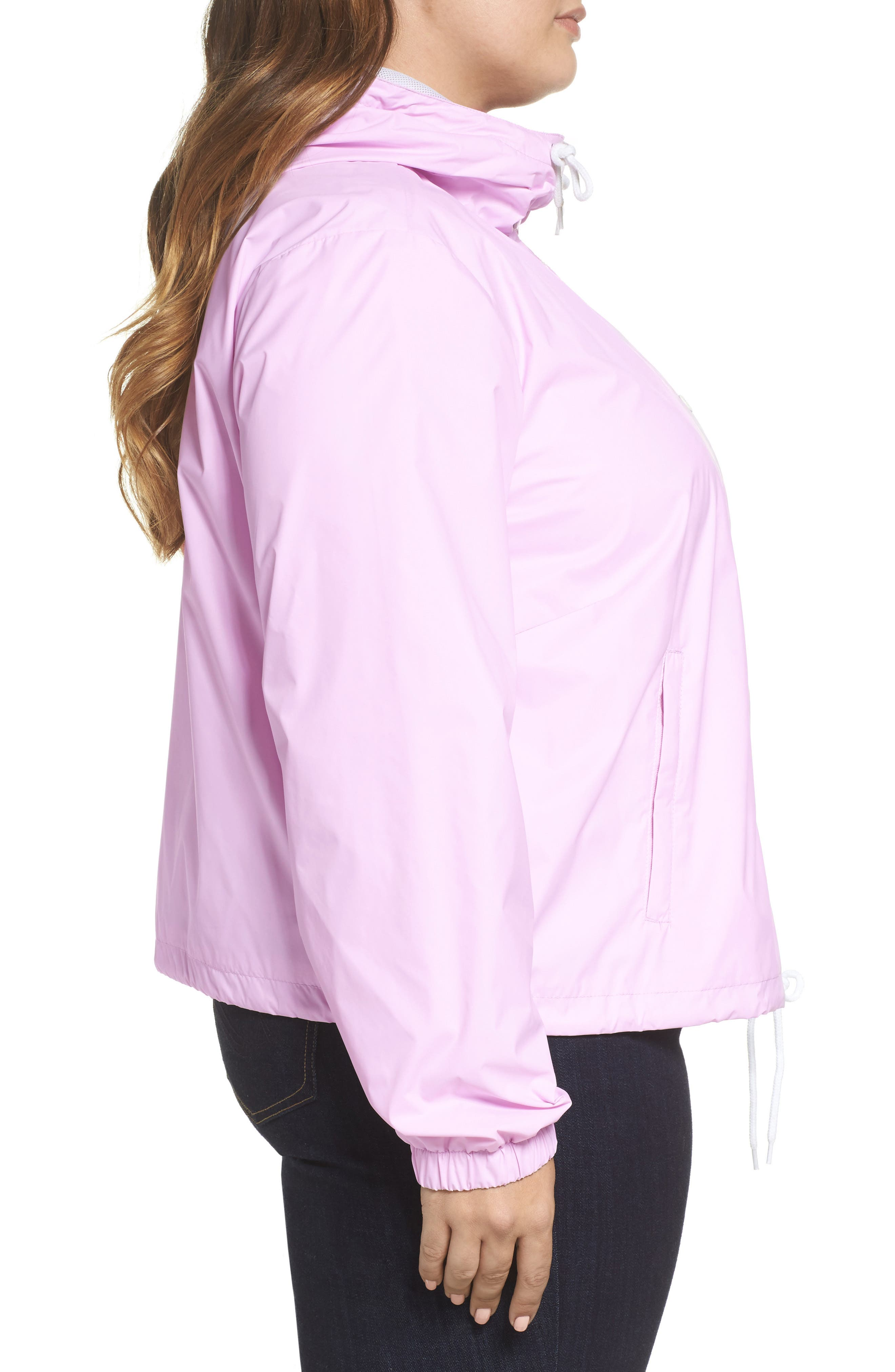 Retro Hooded Coach's Jacket,                             Alternate thumbnail 12, color,