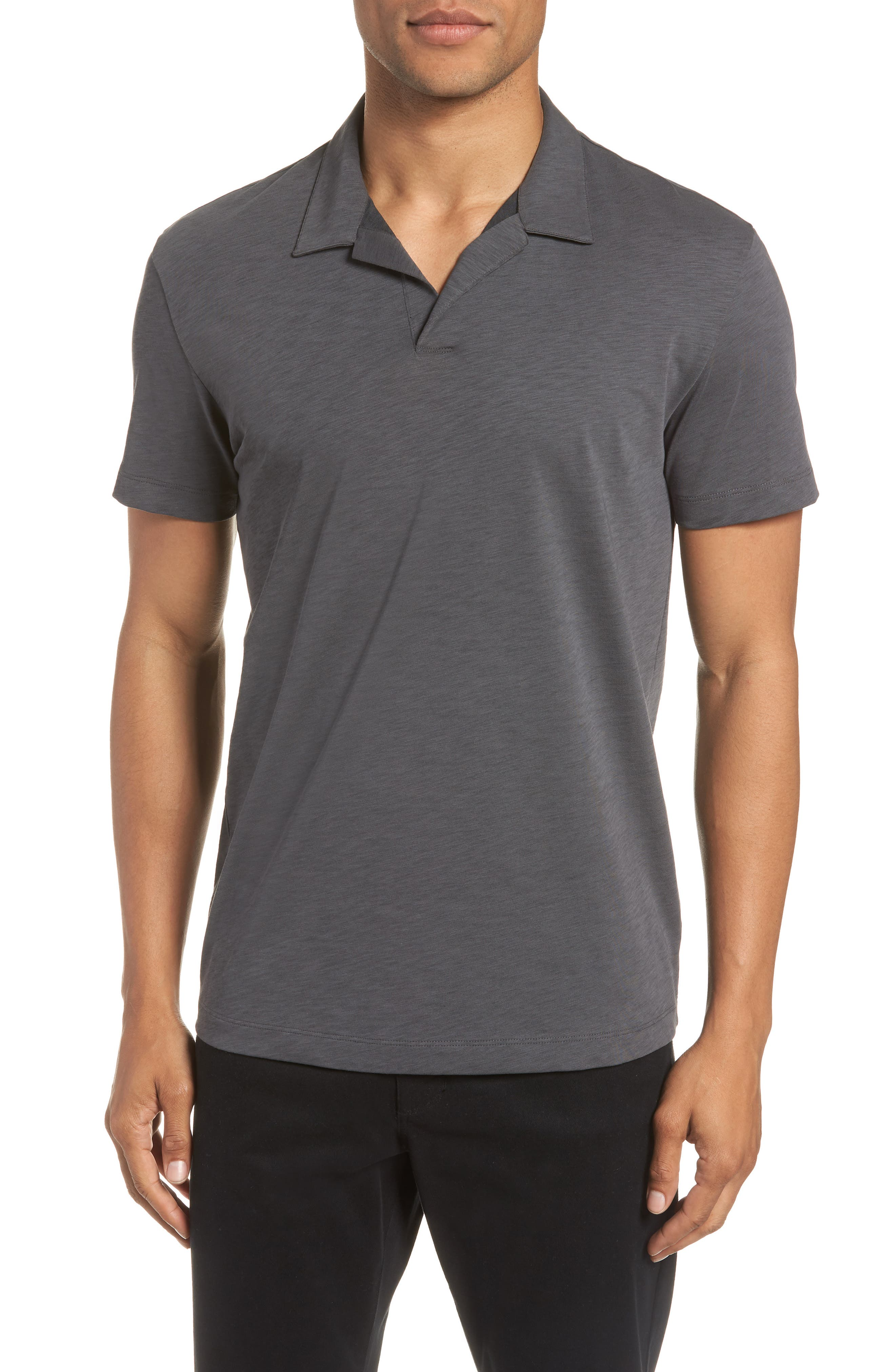 Willem Atmos Polo,                         Main,                         color, CHARCOAL