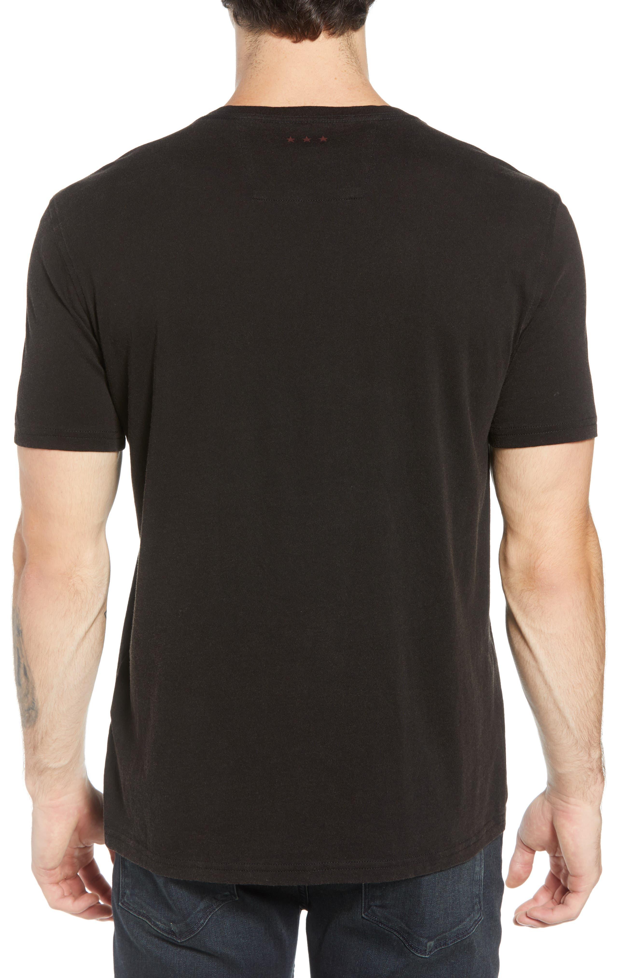 Fire Skeleton Graphic T-Shirt,                             Alternate thumbnail 2, color,                             001