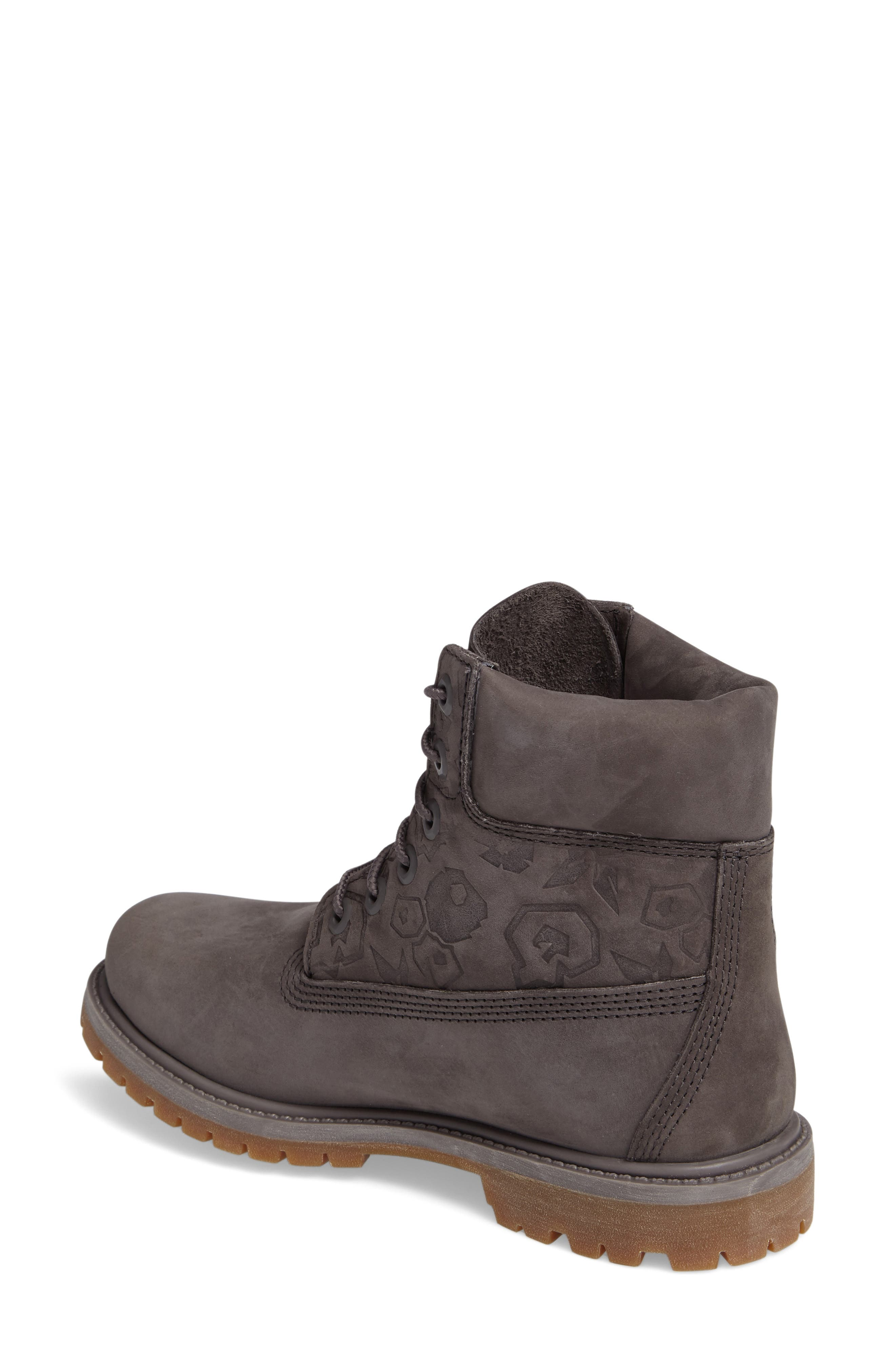 6-Inch Premium Embossed Waterproof Boot,                             Alternate thumbnail 2, color,                             021