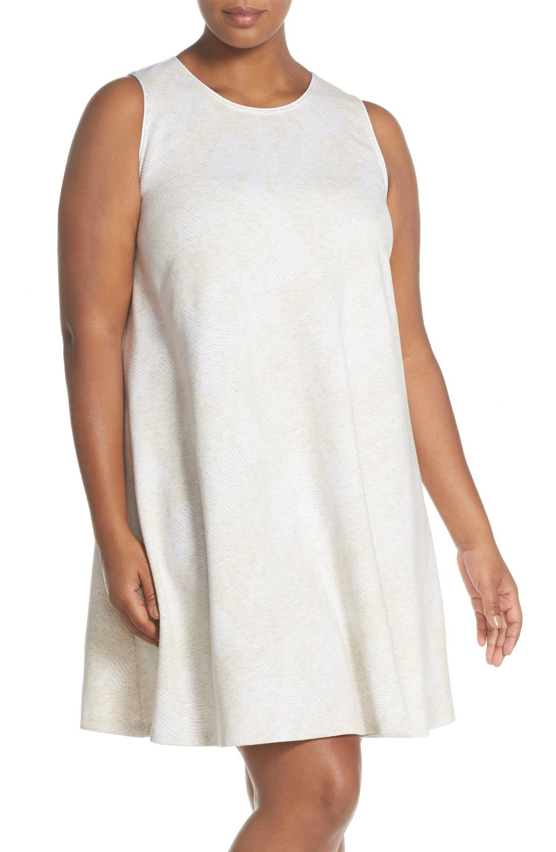 Plus Size Tart French Terry A-Line Dress