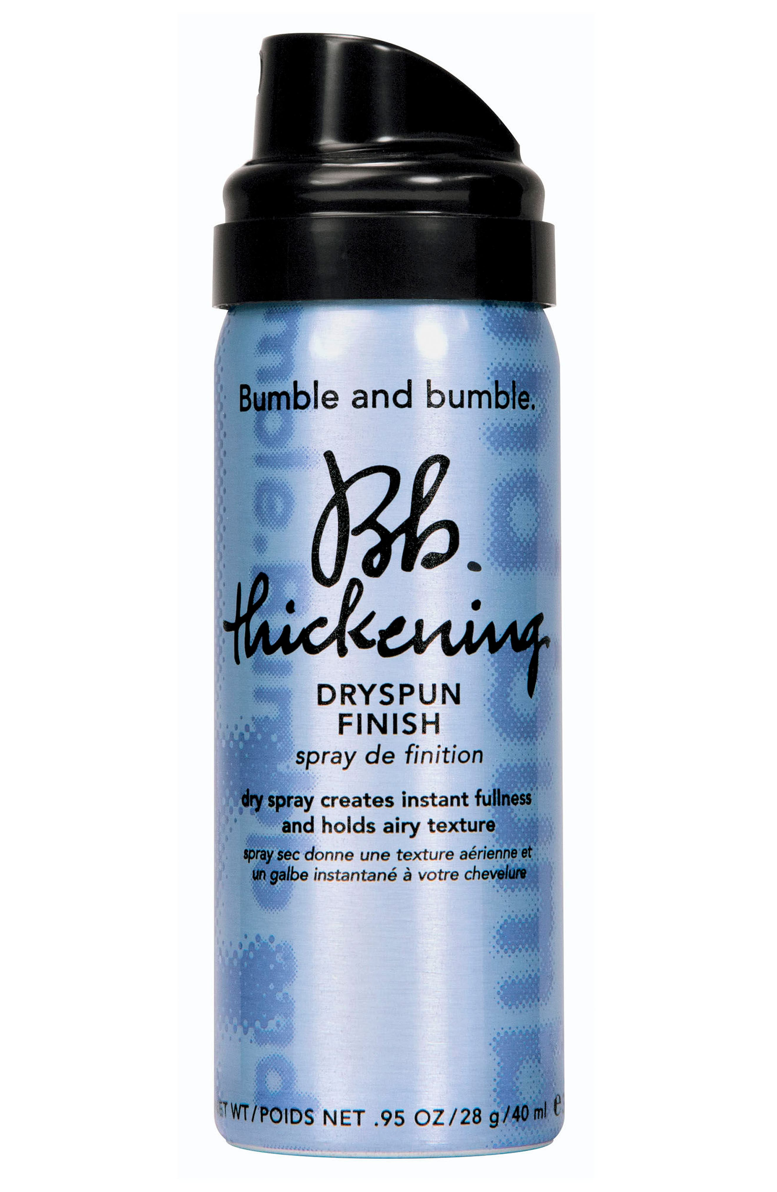 Thickening Dryspun Finish Dry Spray,                             Main thumbnail 1, color,                             NO COLOR