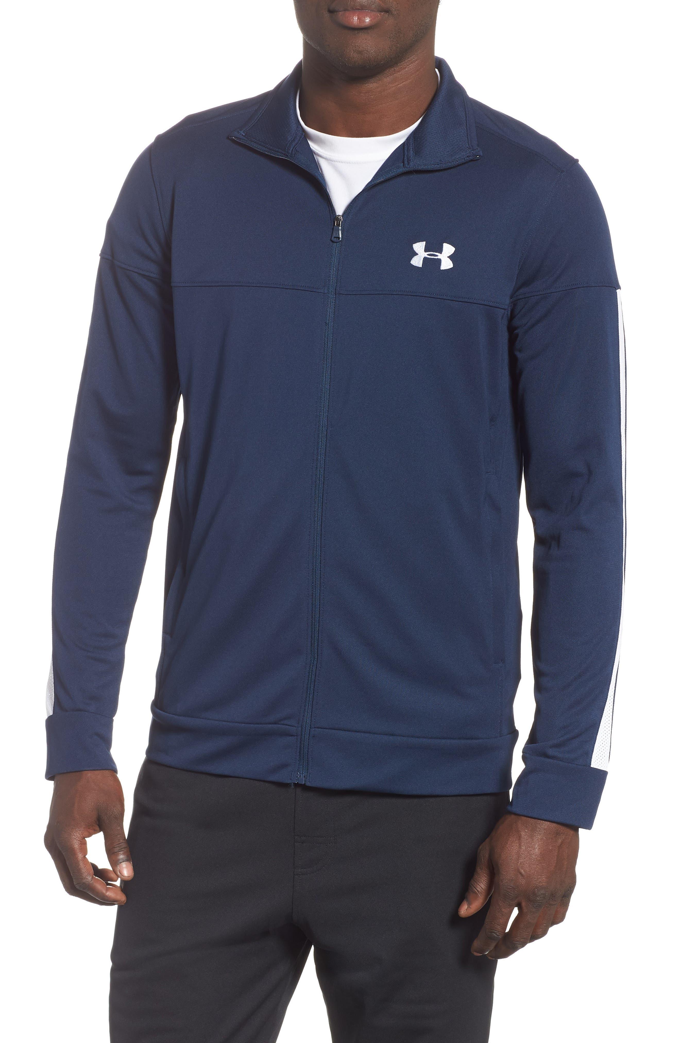 Under Armour Sportstyle Pique Track Jacket, Blue