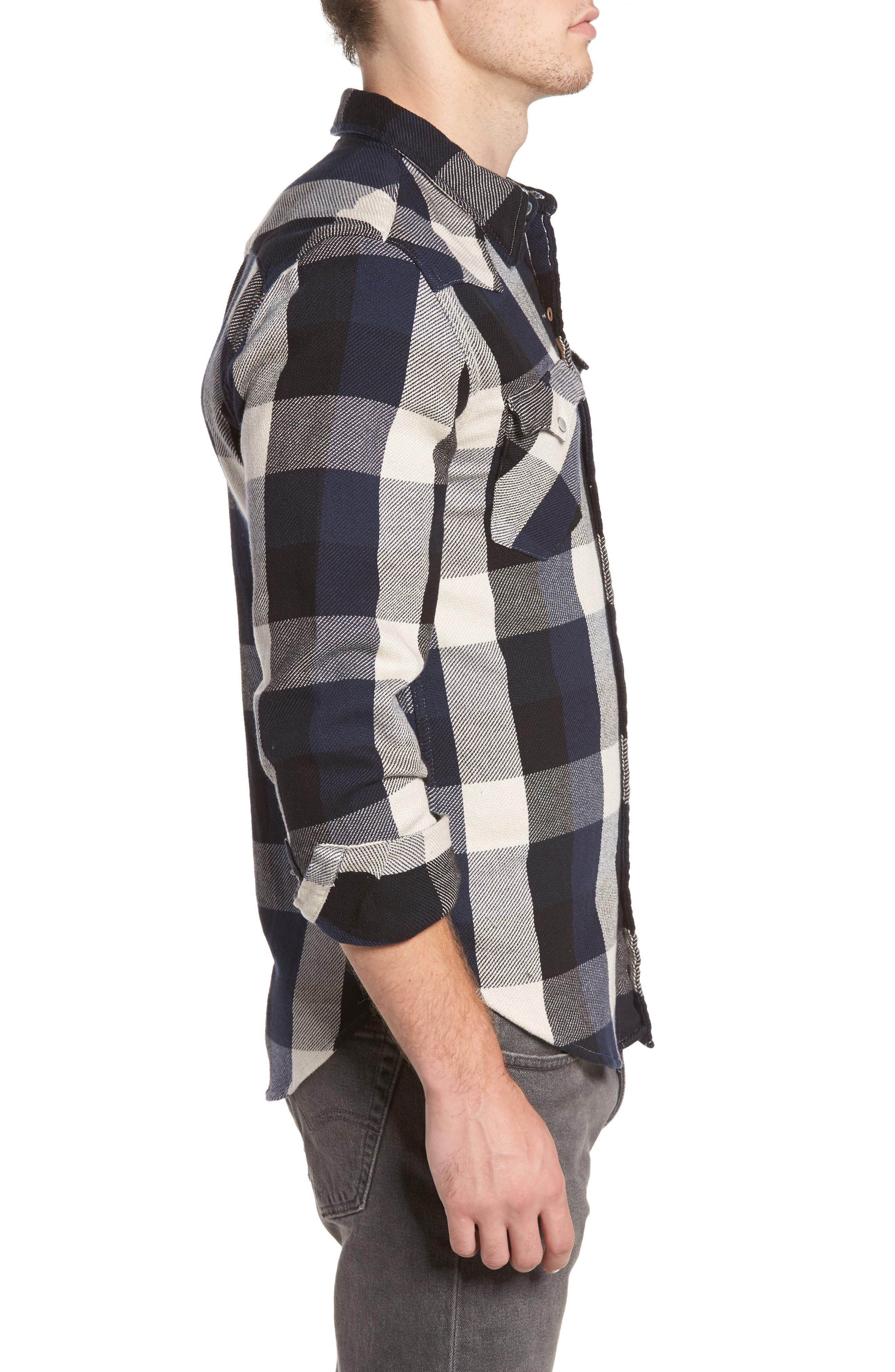 'Barstow' Denim Western Shirt,                             Alternate thumbnail 15, color,